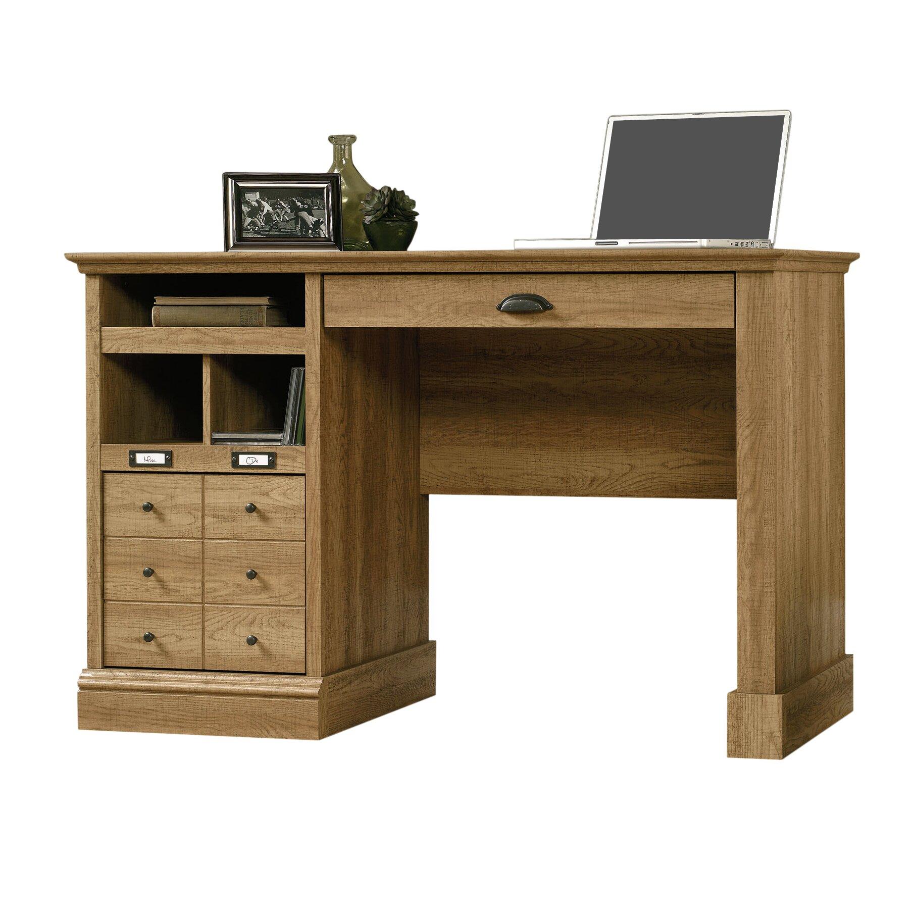 beachcrest home bowerbank puter desk with 2 storage