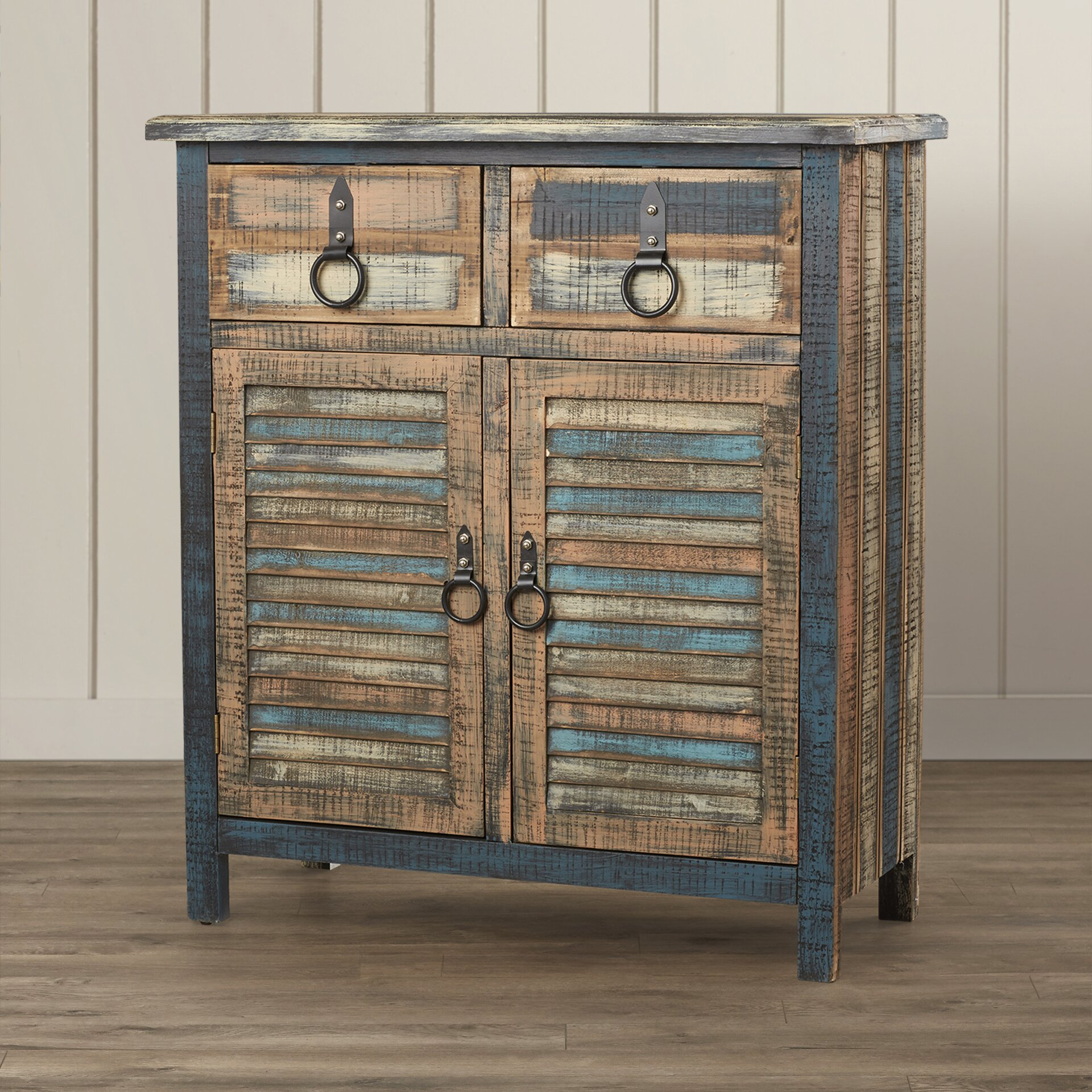 Beachcrest Home Varela 2 Drawer Cabinet & Reviews