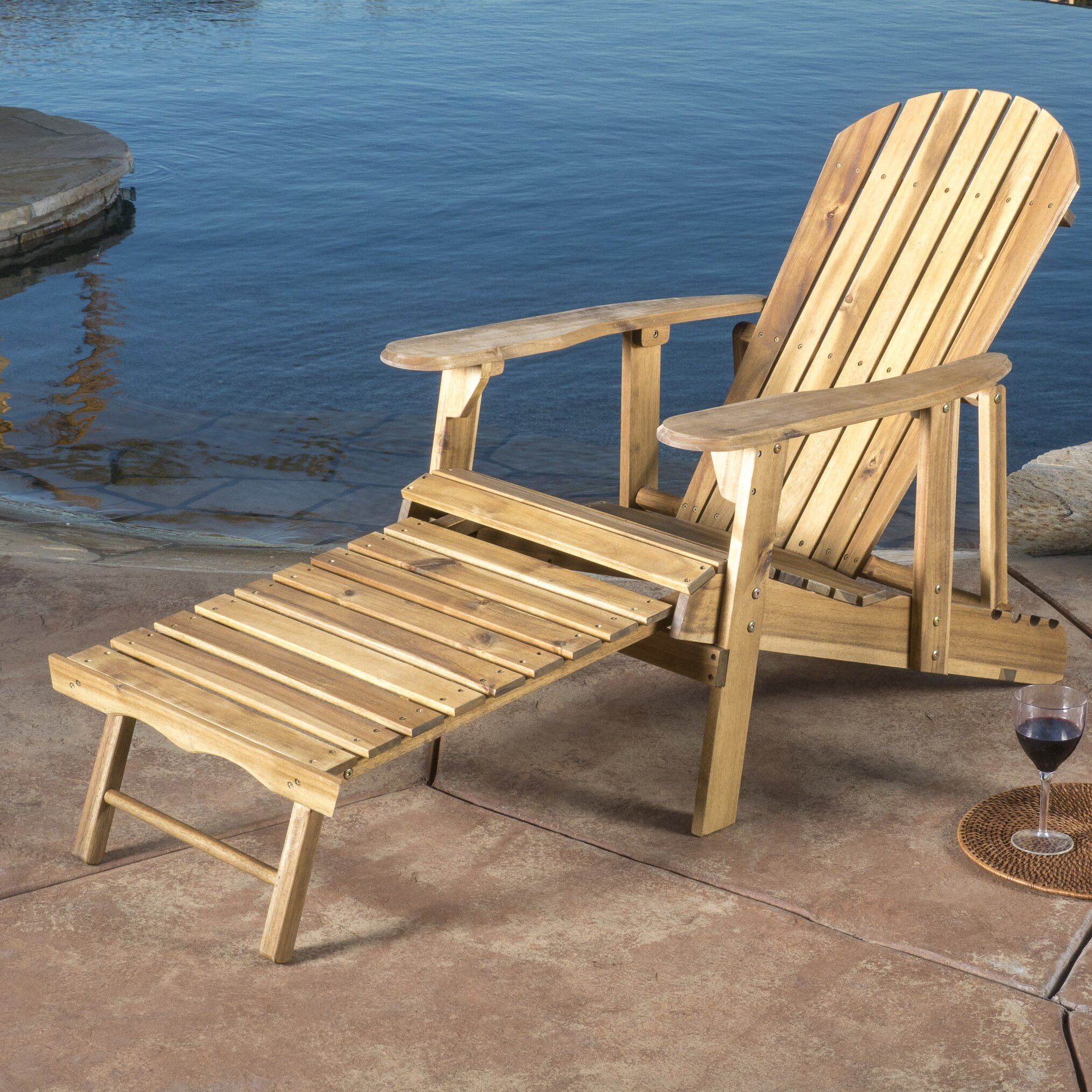 Beachcrest Home Meadowbrook Adirondack Chair Reviews Wayfair