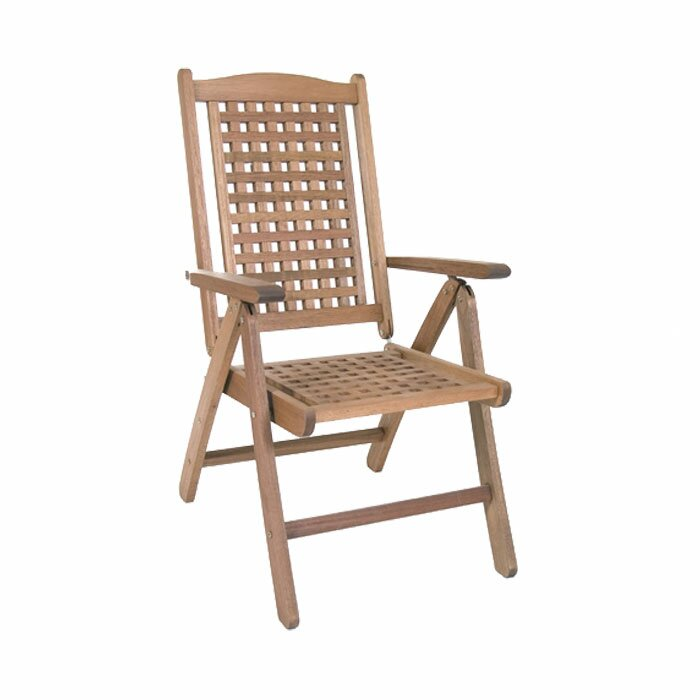 Beachcrest Home Elsmere Folding Dining Arm Chair & Reviews