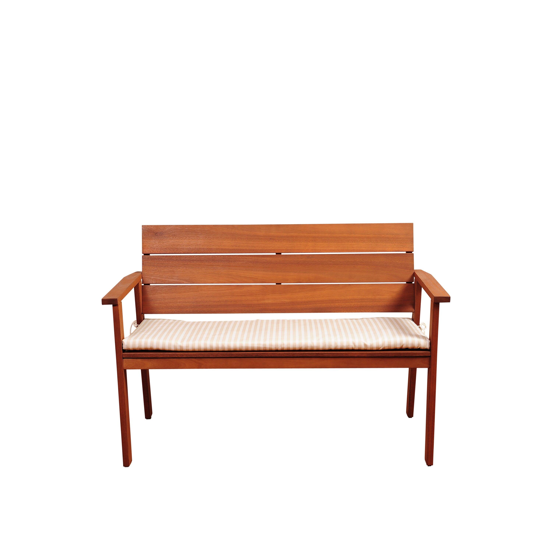 Beachcrest Home Elsmere Eucalyptus Garden Bench With Cushion Reviews Wayfair