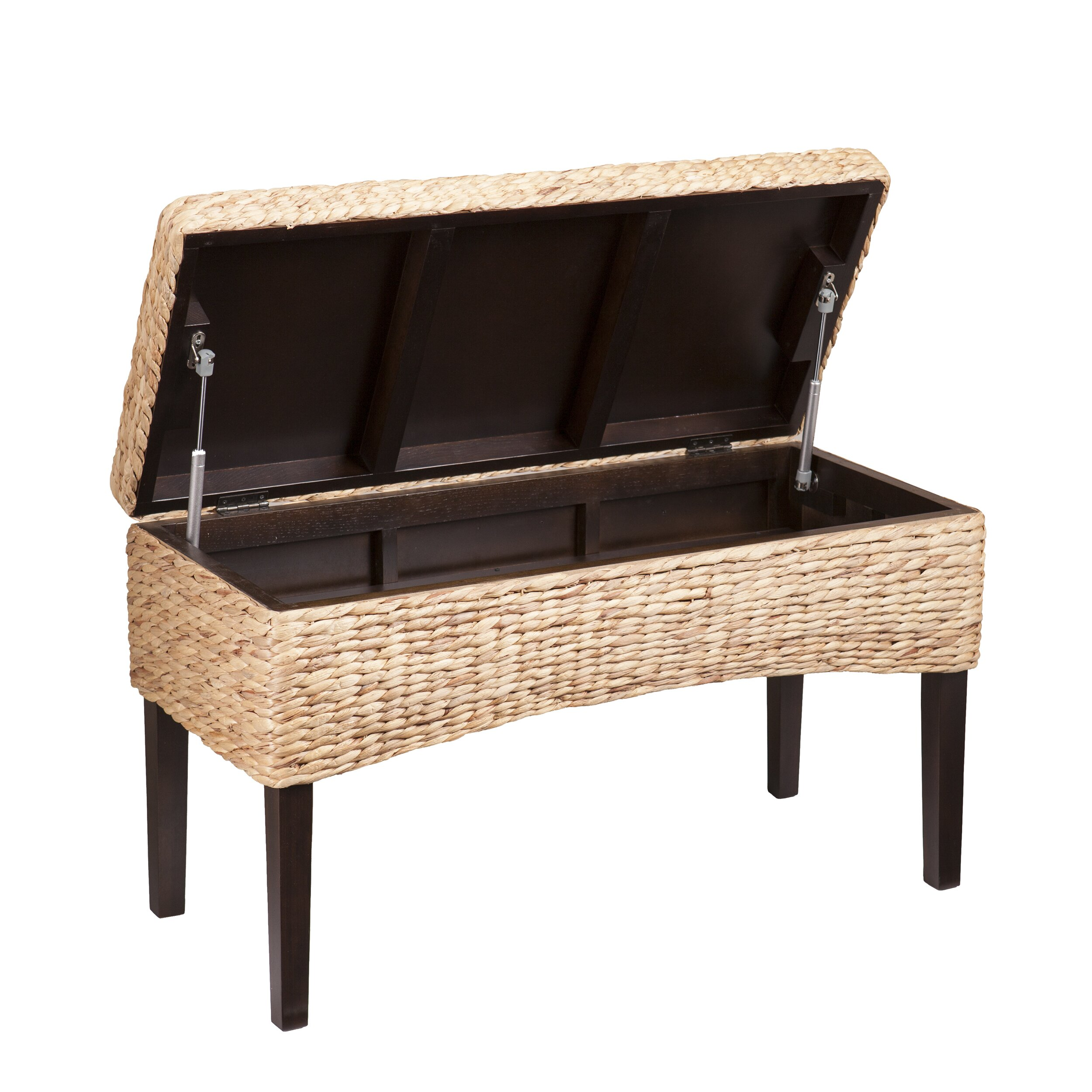 beachcrest home norwich hyacinth storage bedroom bench wayfair