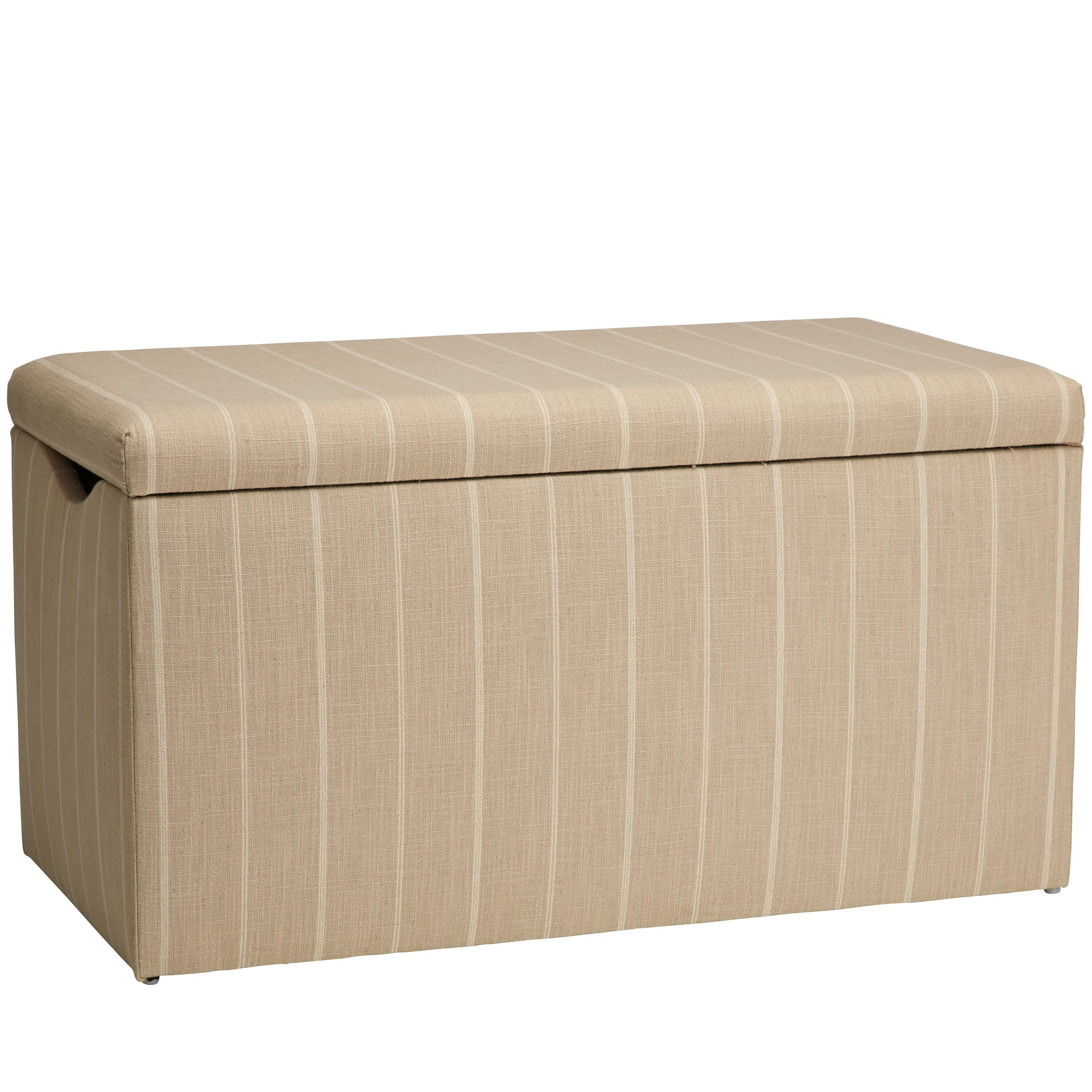 home osage cotton upholstered storage bedroom bench wayfair