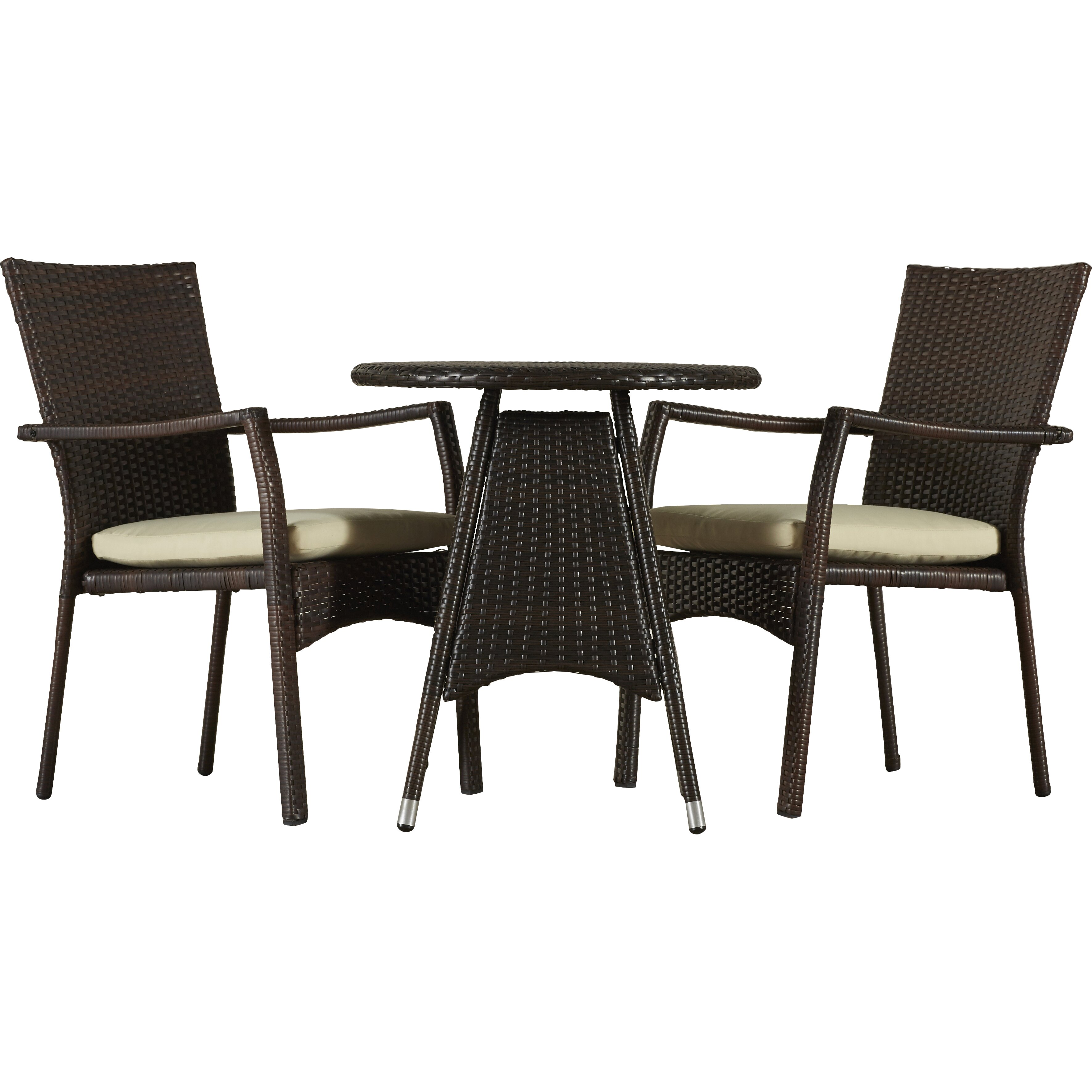 Very Impressive portraiture of Outdoor Patio Furniture Two Person Patio Dining Sets Beachcrest  with #884444 color and 3540x3540 pixels