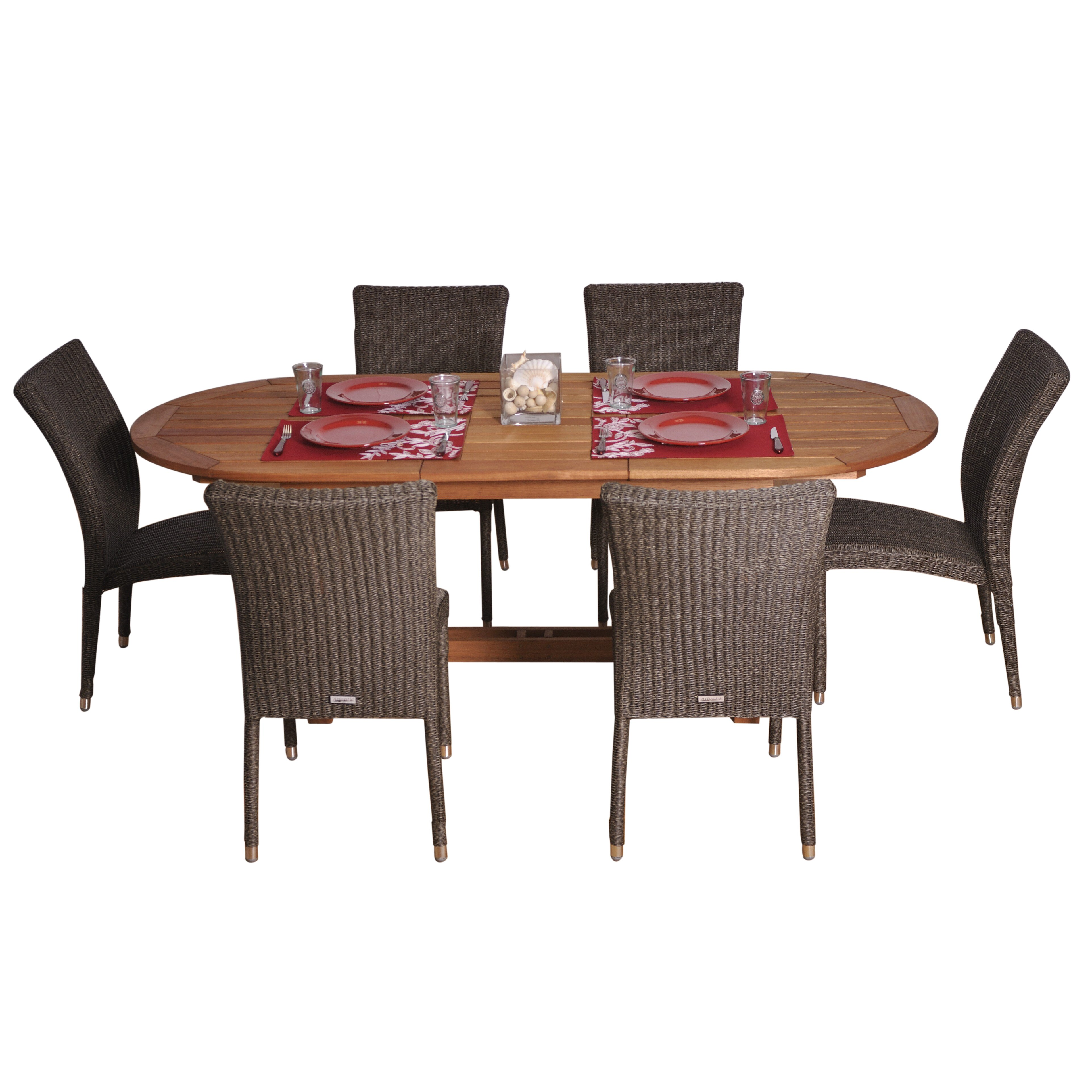 Beachcrest home elsmere 7 piece dining set reviews wayfair for 7 piece dining set