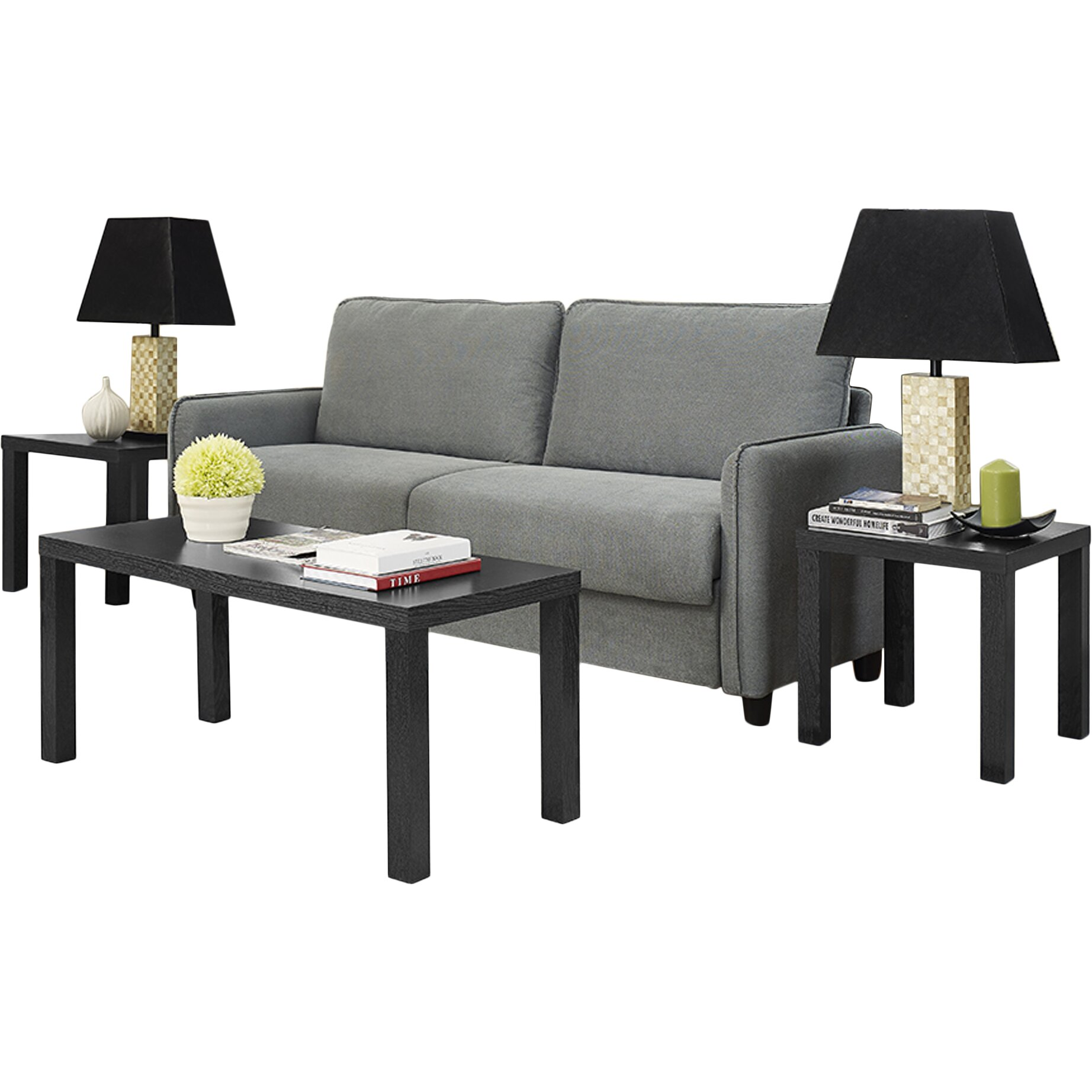 Veropeso 3 Piece Coffee Table Set: Beachcrest Home Sunbury 3 Piece Coffee Table Set & Reviews