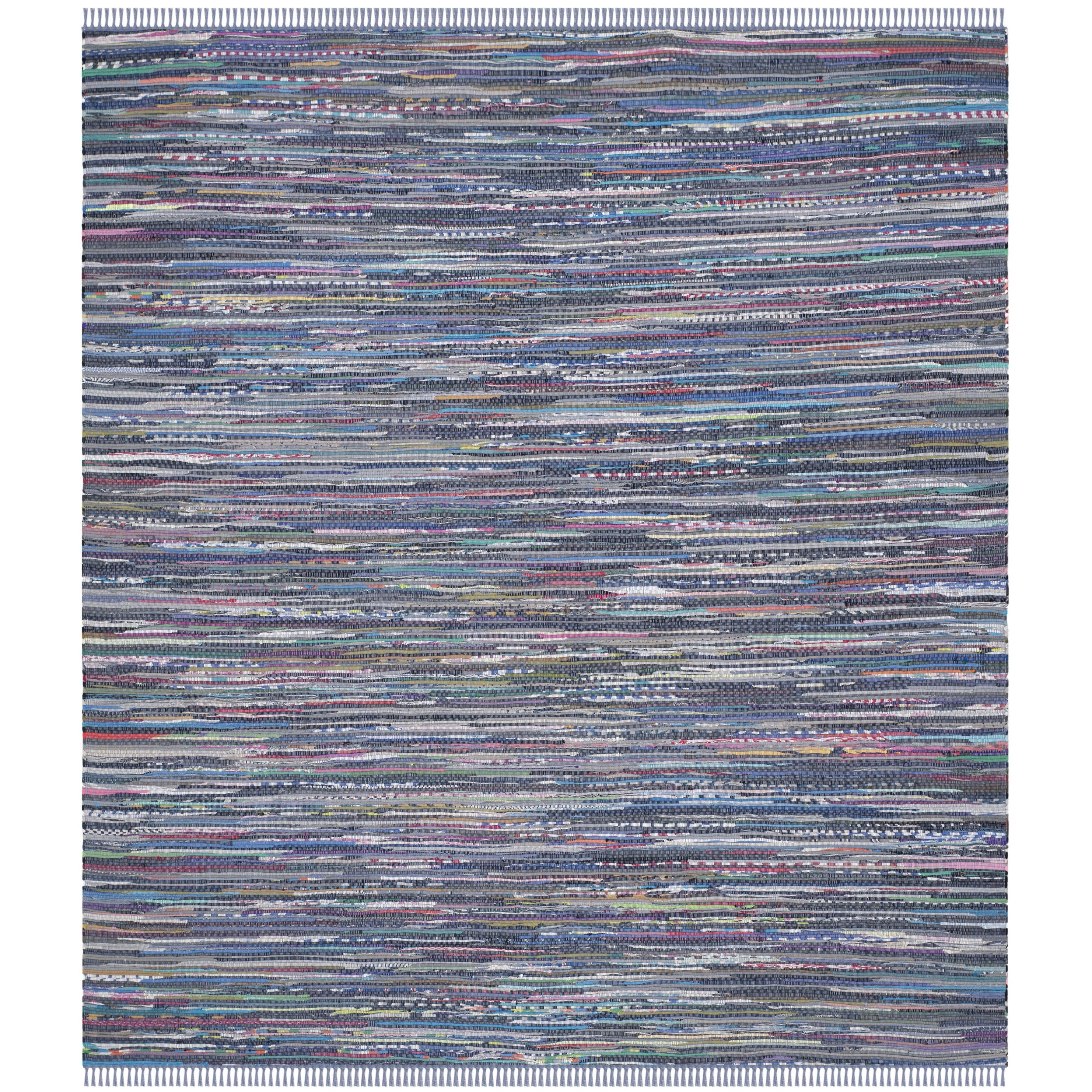 Xl Rag Rug: Beachcrest Home Eastport Rag Multi Contemporary Area Rug