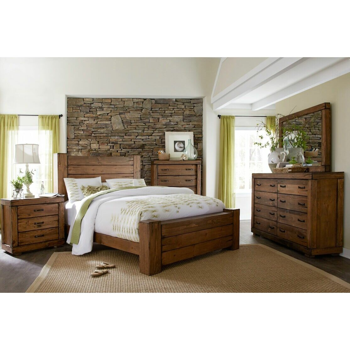 Loon Peak Panel Customizable Bedroom Set & Reviews