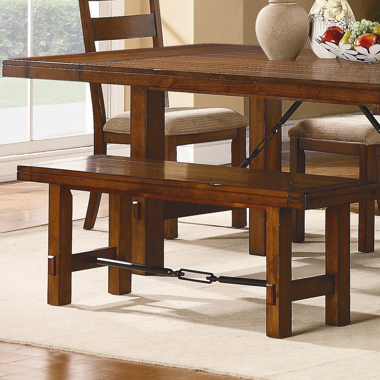 Loon Peak South Bross Wooden Kitchen Bench & Reviews