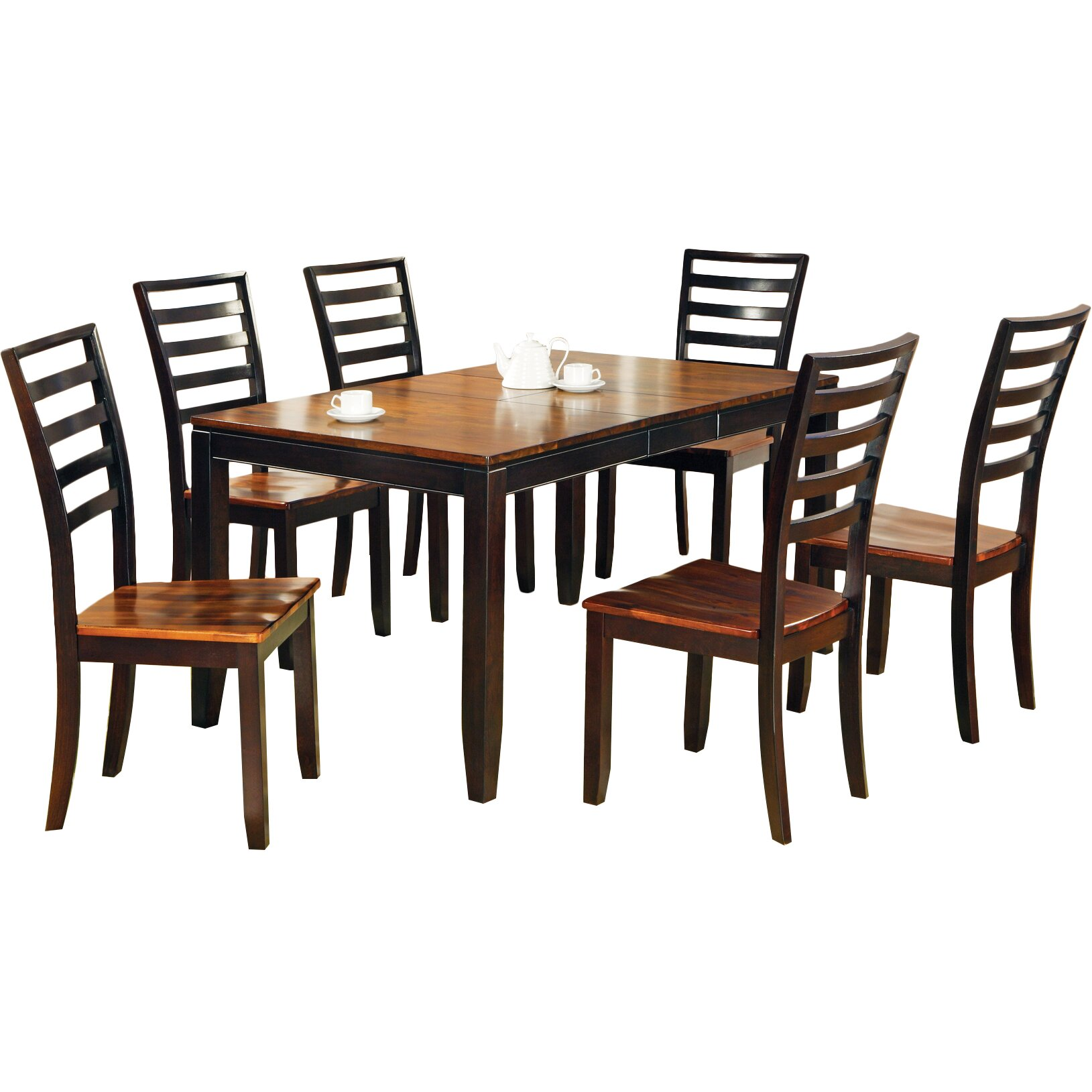 Loon peak matterhorn 7 piece dining set reviews wayfair for 7 piece dining set