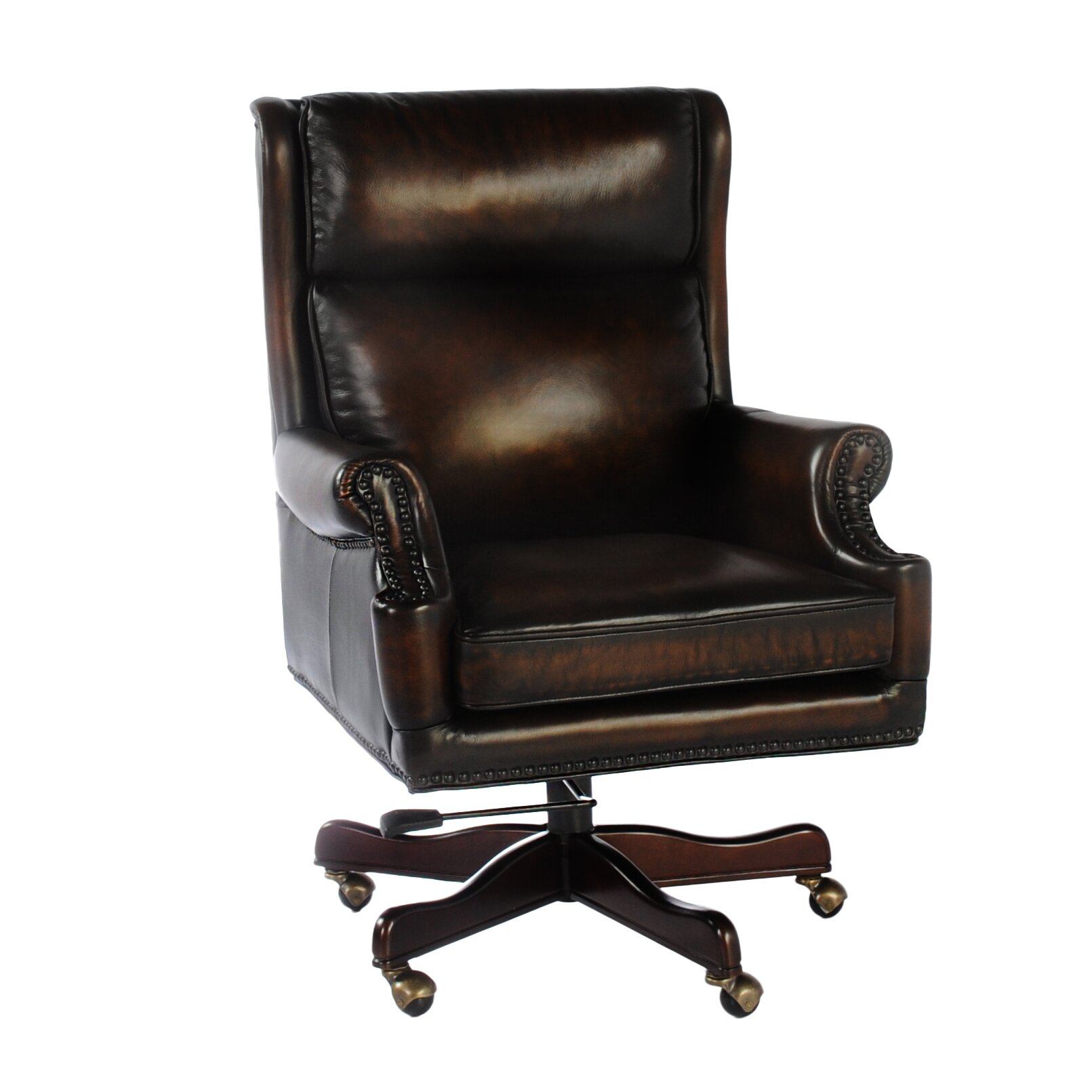 Loon peak tammany leather executive chair reviews wayfair Peak office furniture