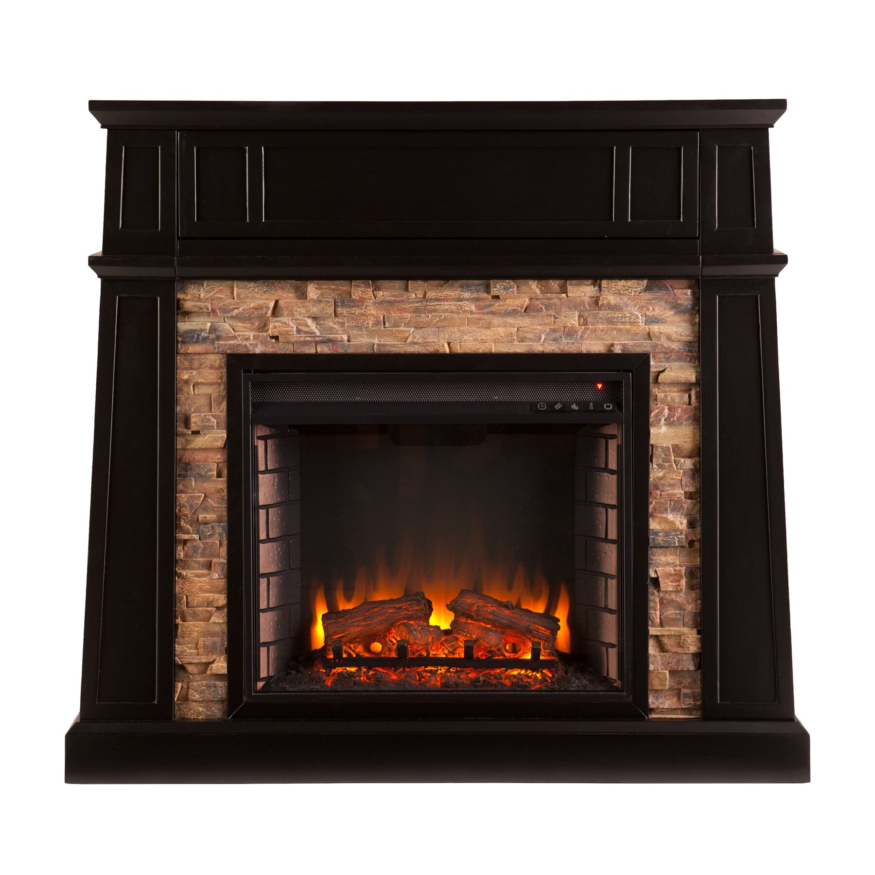 Loon peak nebo electric fireplace reviews wayfair for Electric fireplace pics