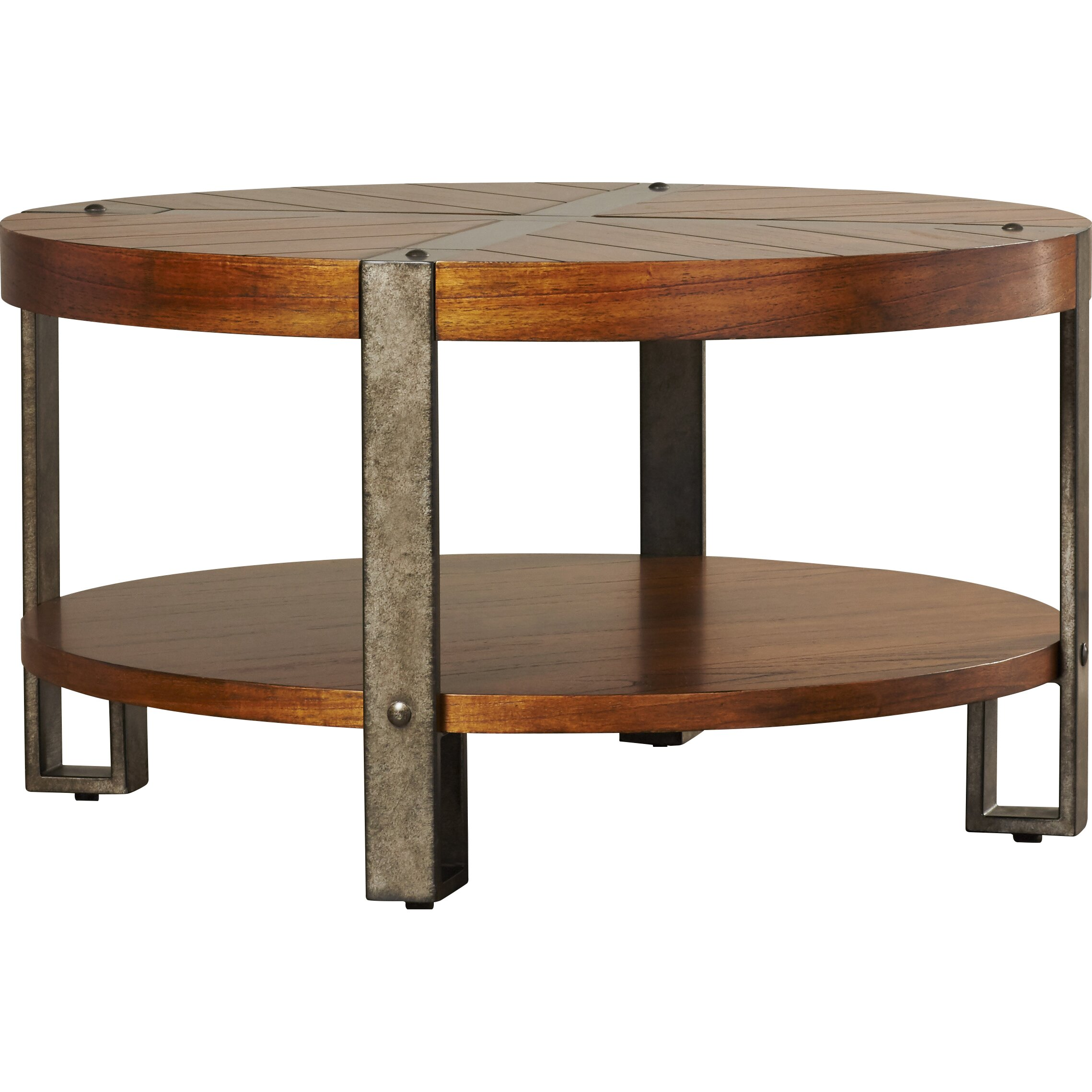 Loon Peak Gallatin Round Coffee Table & Reviews