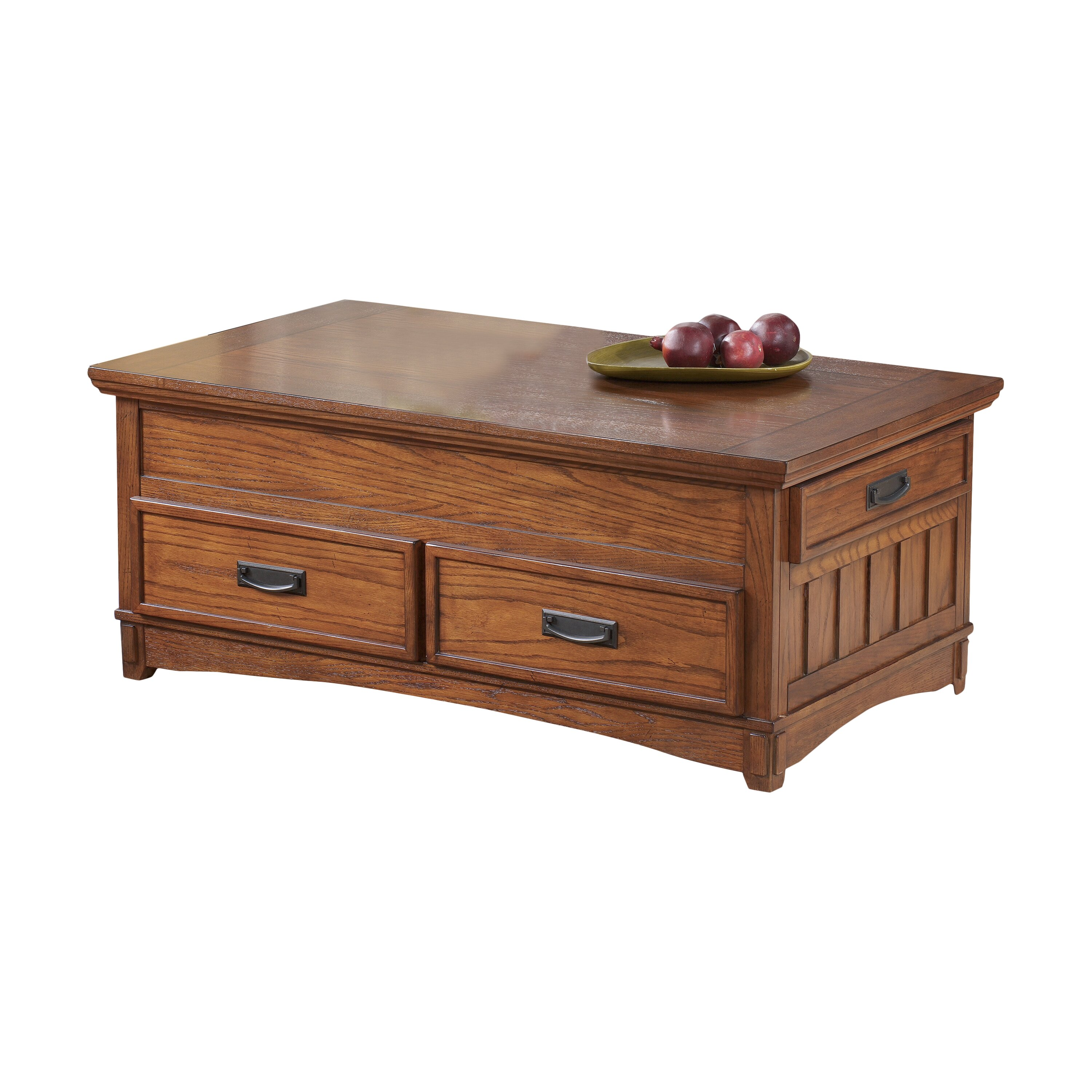 Loon Peak Barrett Trunk Coffee Table With Lift Top Reviews Wayfair