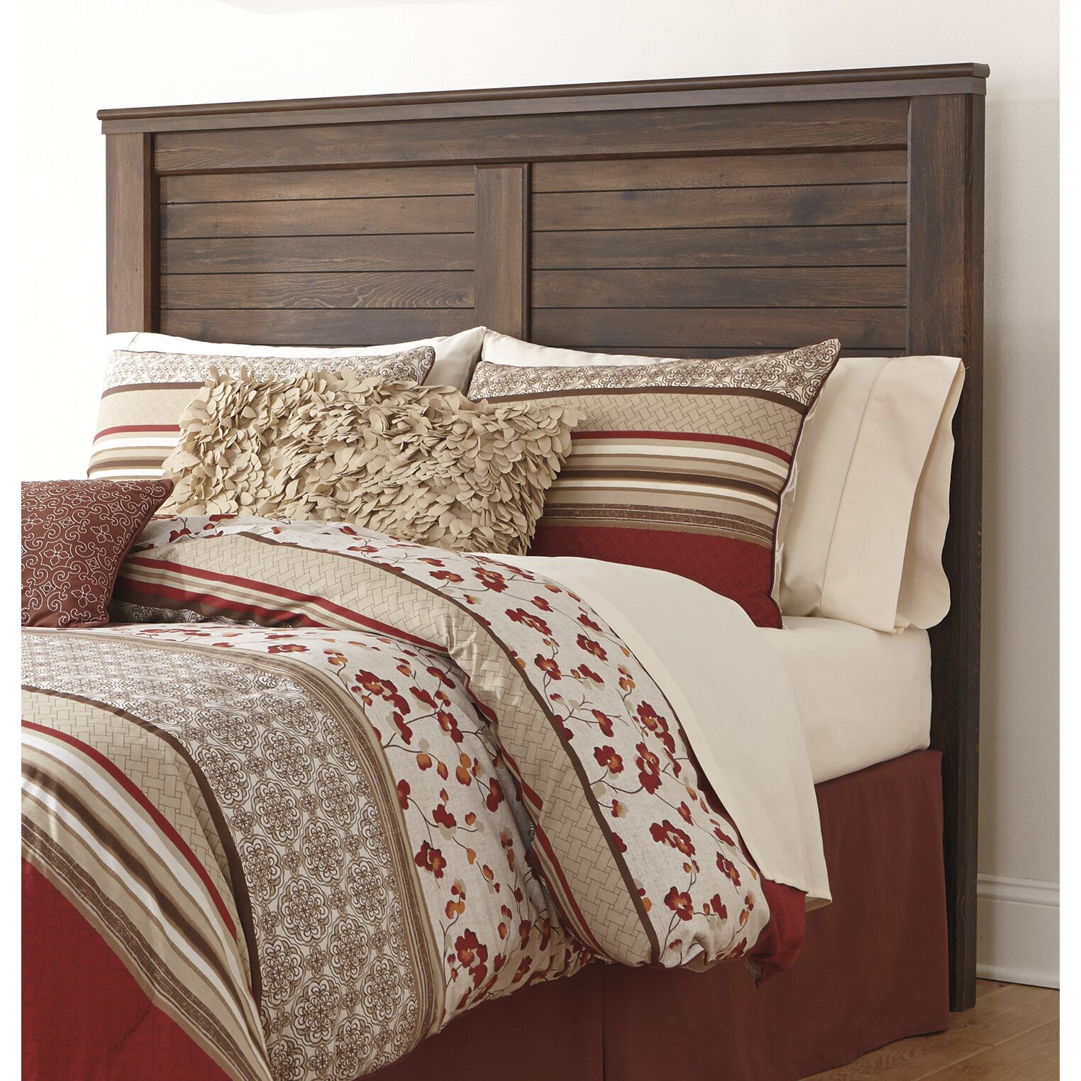 Loon Peak Flattop Wood Headboard Amp Reviews Wayfair
