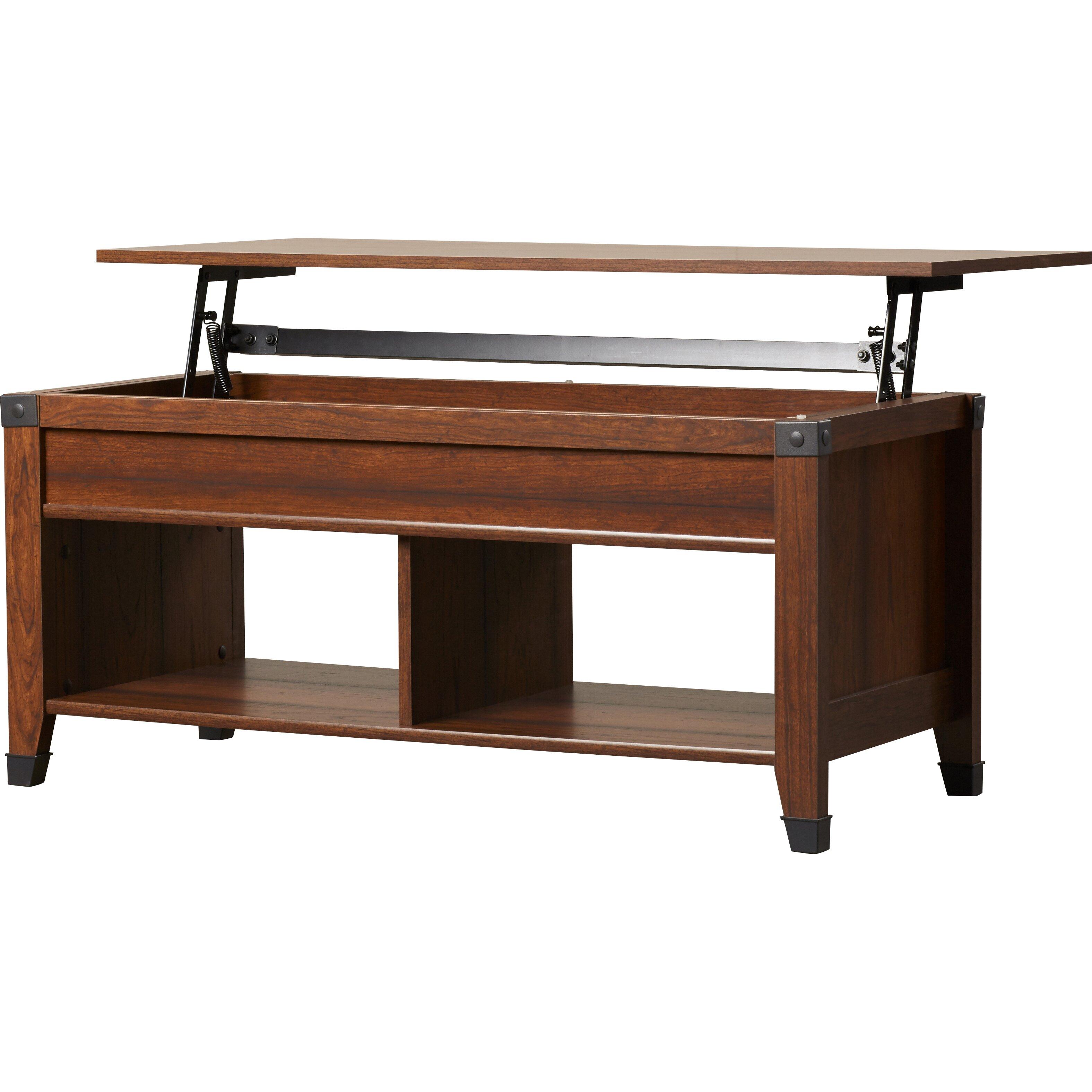 Loon Peak Newdale Coffee Table With Lift Top Reviews Wayfair