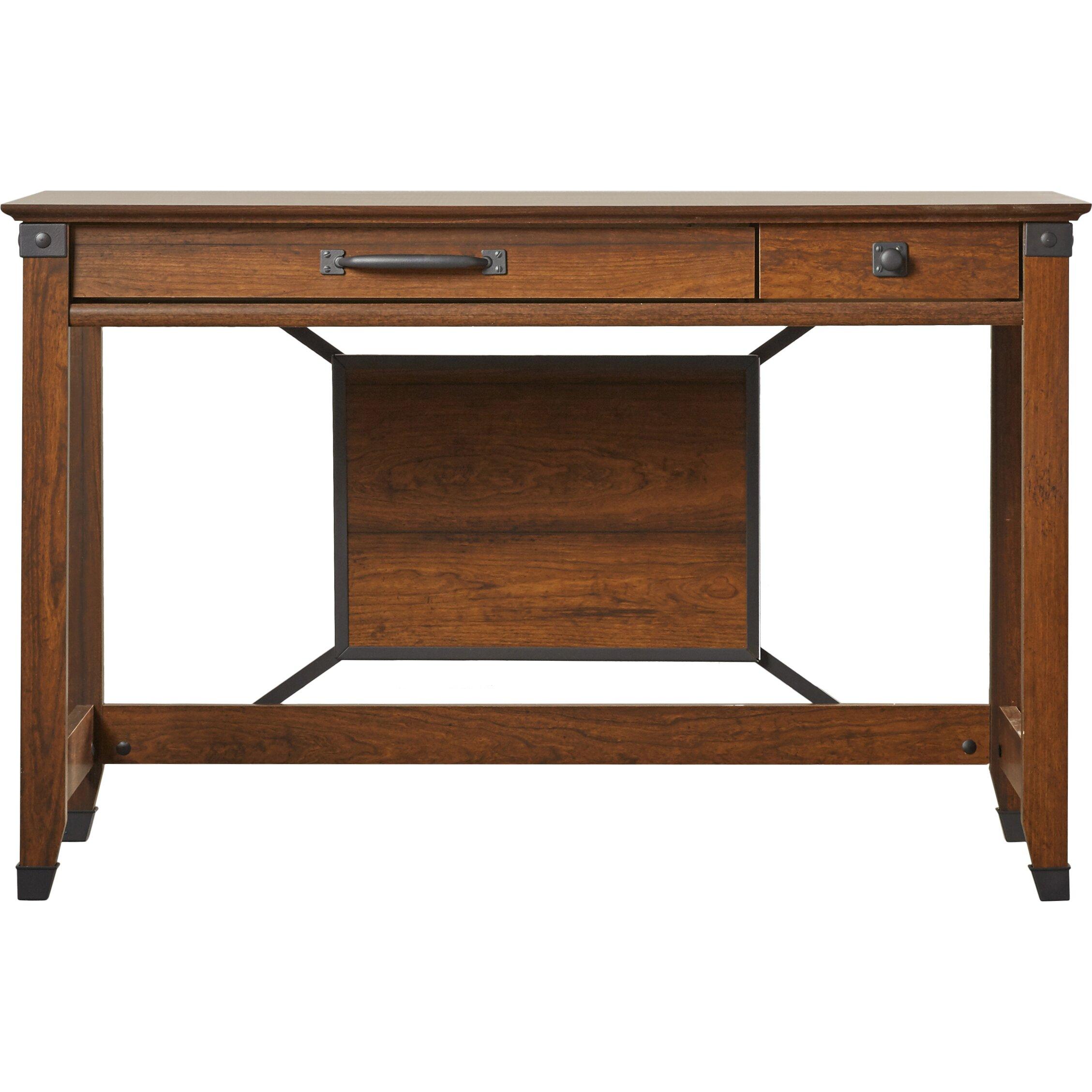 Loon Peak Newdale 2 Drawer Writing Desk Amp Reviews Wayfair