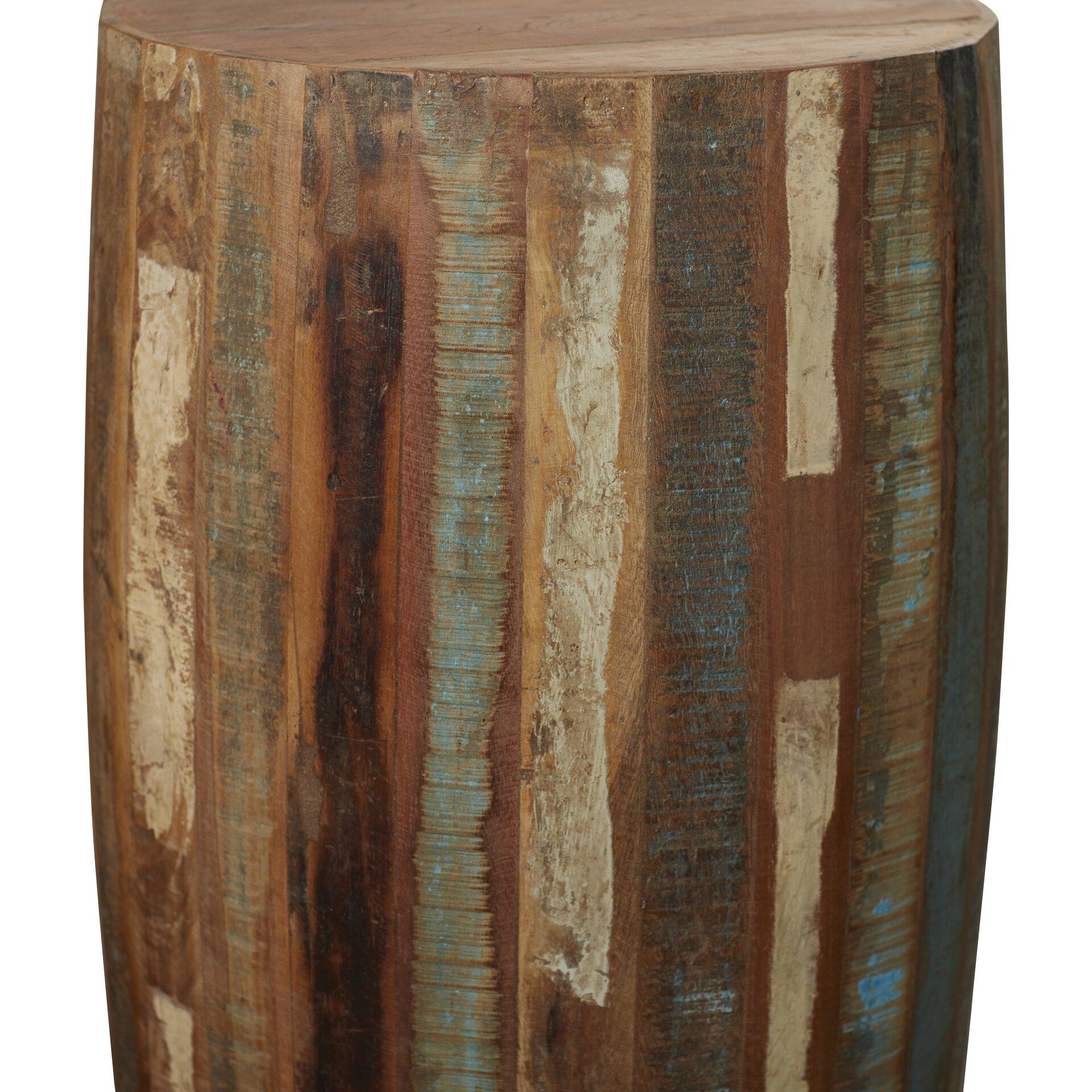 Loon Peak Katahdin Wood End Table Amp Reviews Wayfair