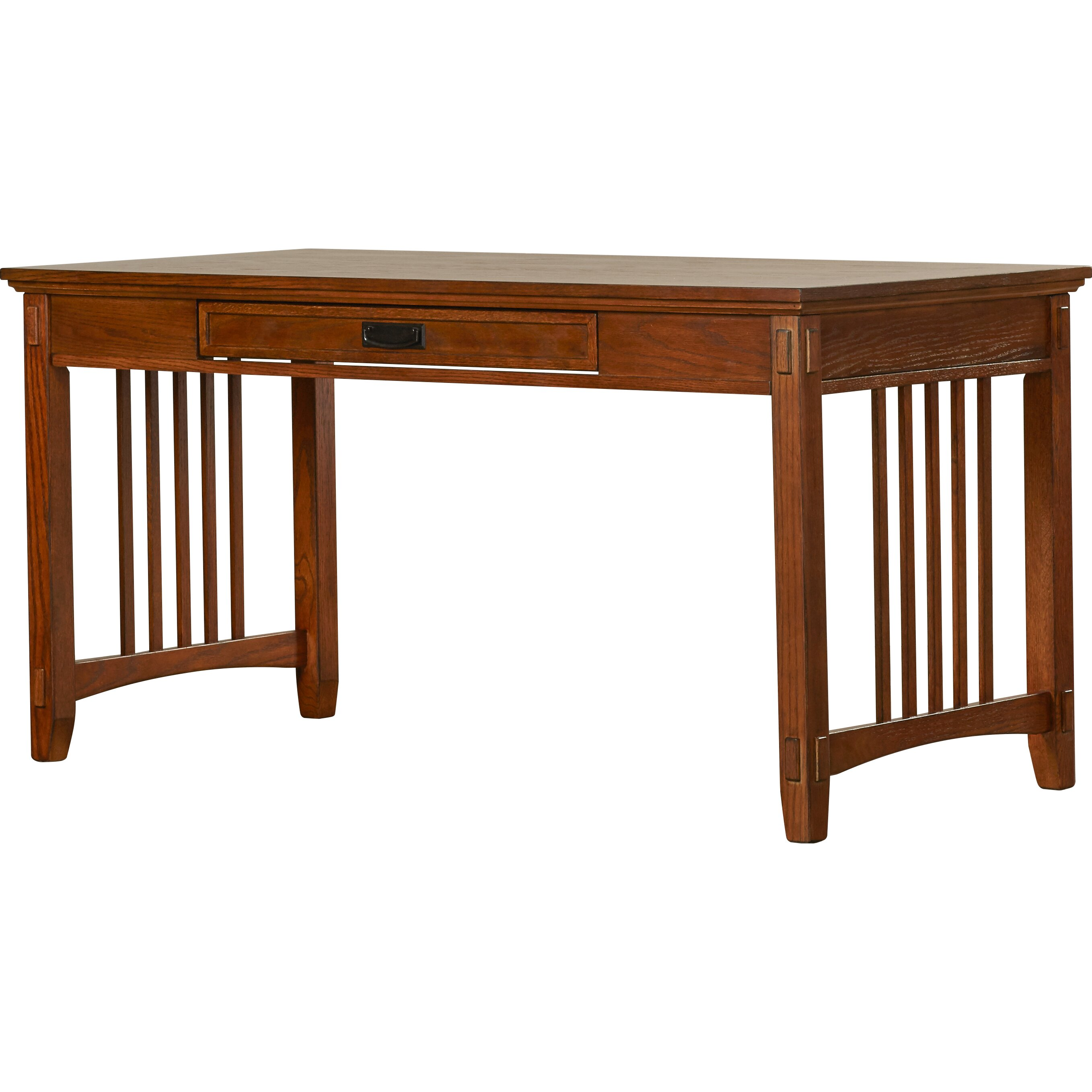 Loon peak san luis large computer desk reviews wayfair Peak office furniture