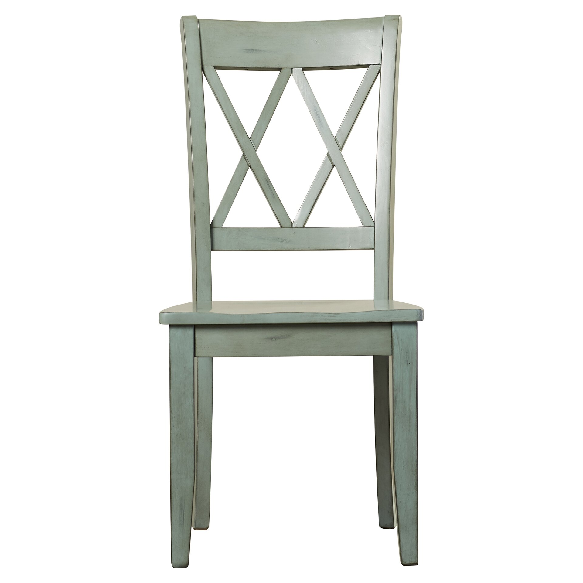 Loon peak castle pines side chair in antique green Peak office furniture