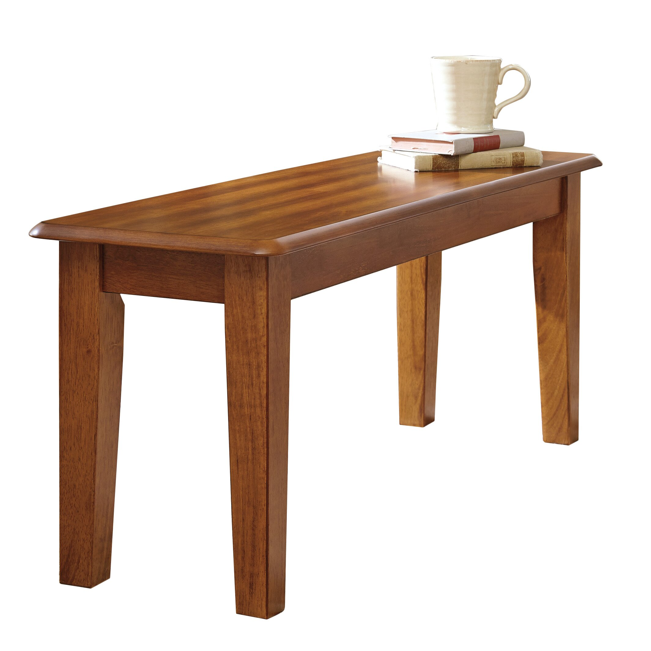 Loon Peak Kaiser Point Wood Kitchen Bench & Reviews