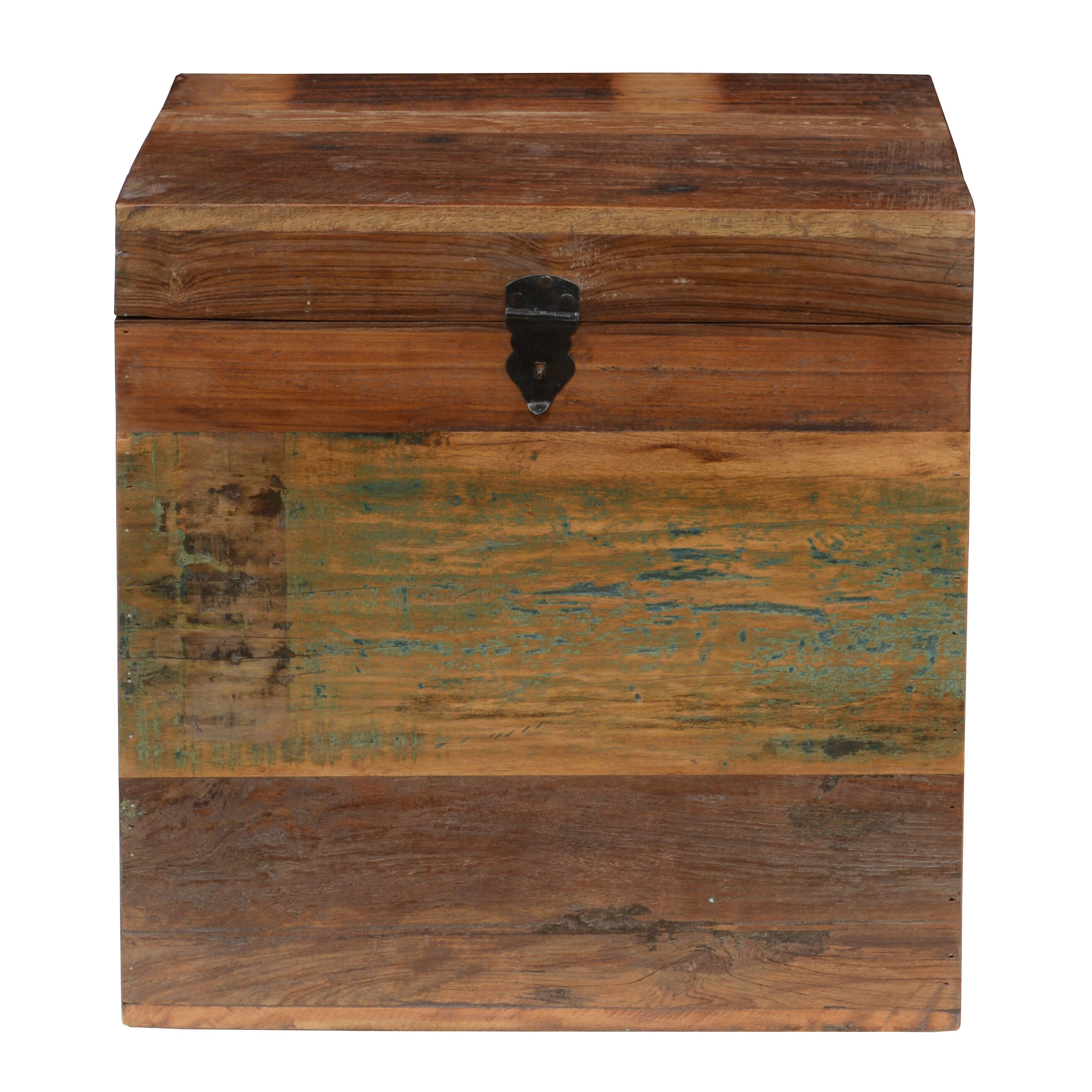 Loon peak elk river small recycled wood box reviews for Reusable wood