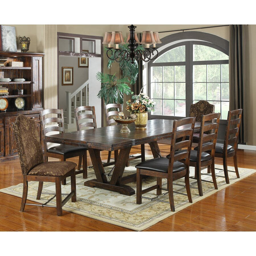 Loon Peak Waban Extendable Dining Table amp Reviews Wayfair : Waban Extendable Dining Table LOON1374 from www.wayfair.com size 899 x 899 jpeg 271kB