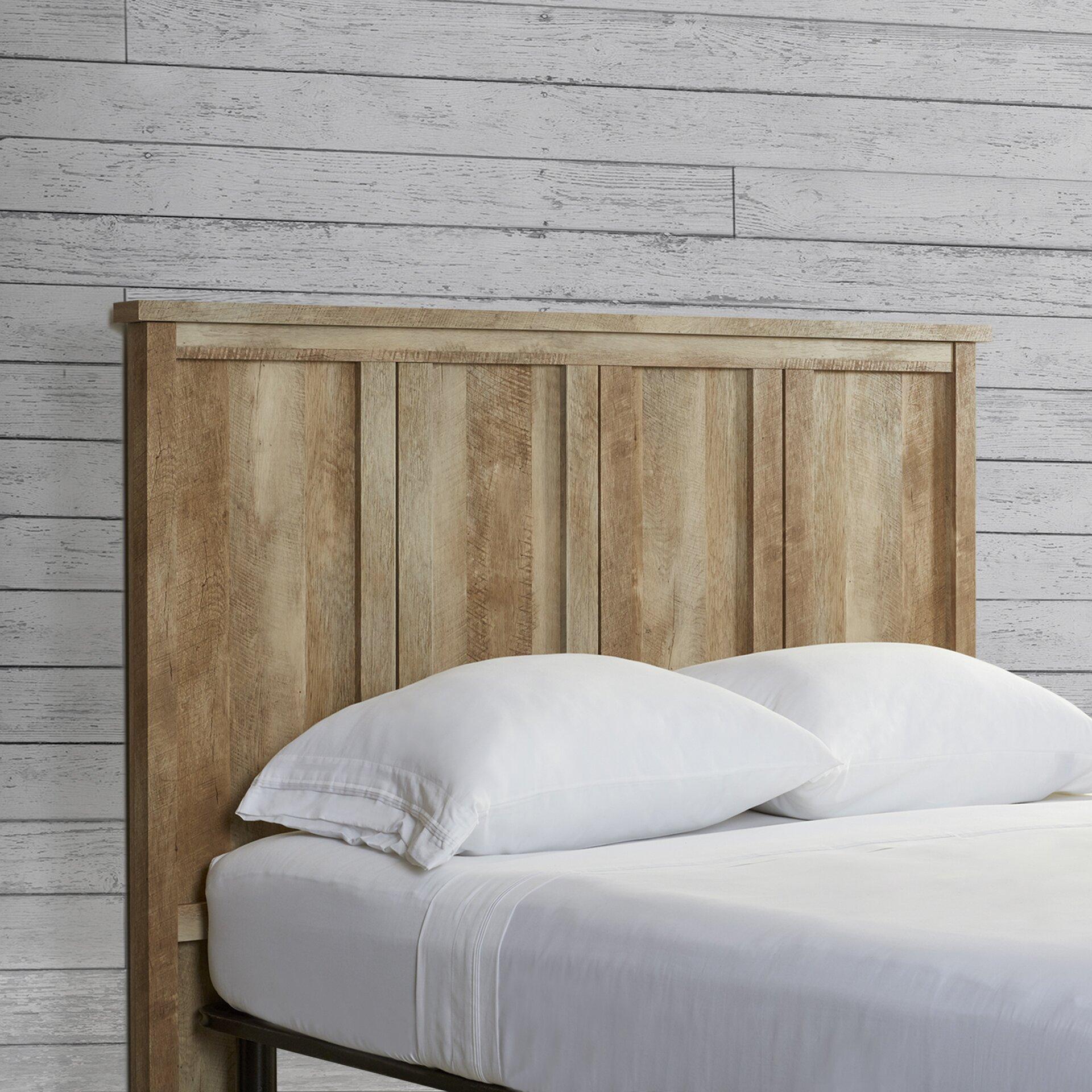 Full Wood Headboard : Loon Peak Sunlight Spire Full Wood Headboard & Reviews  Wayfair
