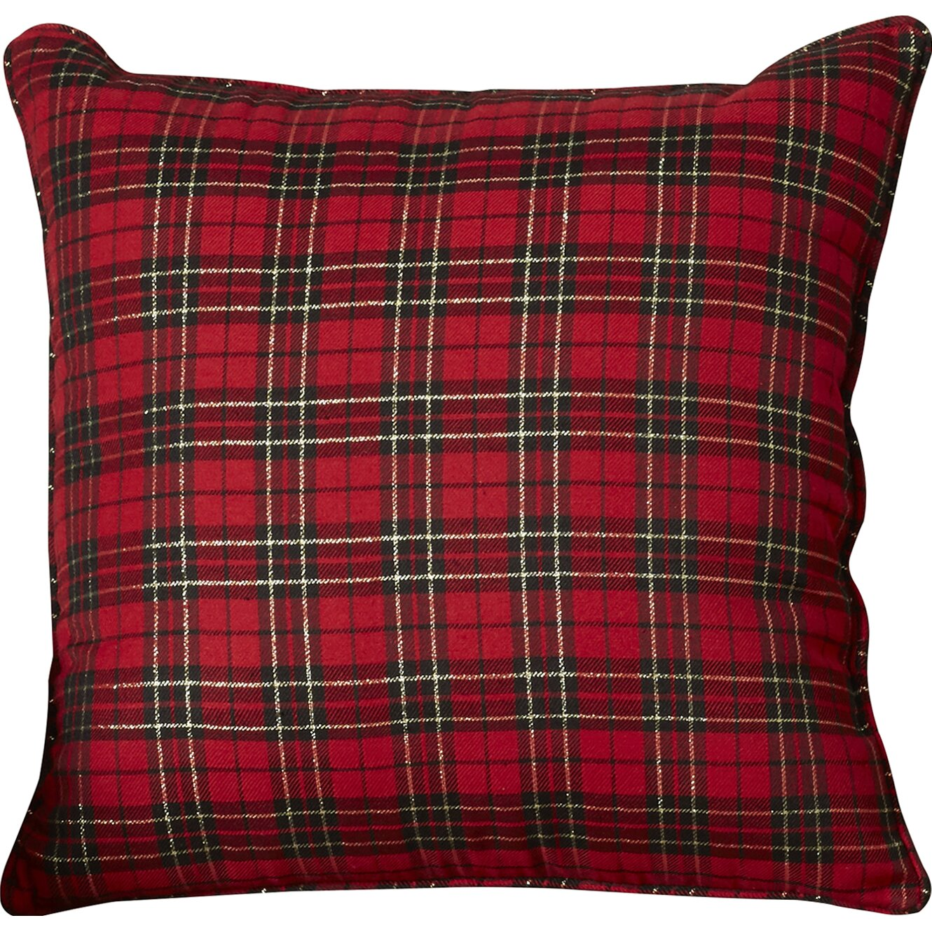 Loon Peak Greeley Holiday Plaid Throw Pillow & Reviews Wayfair