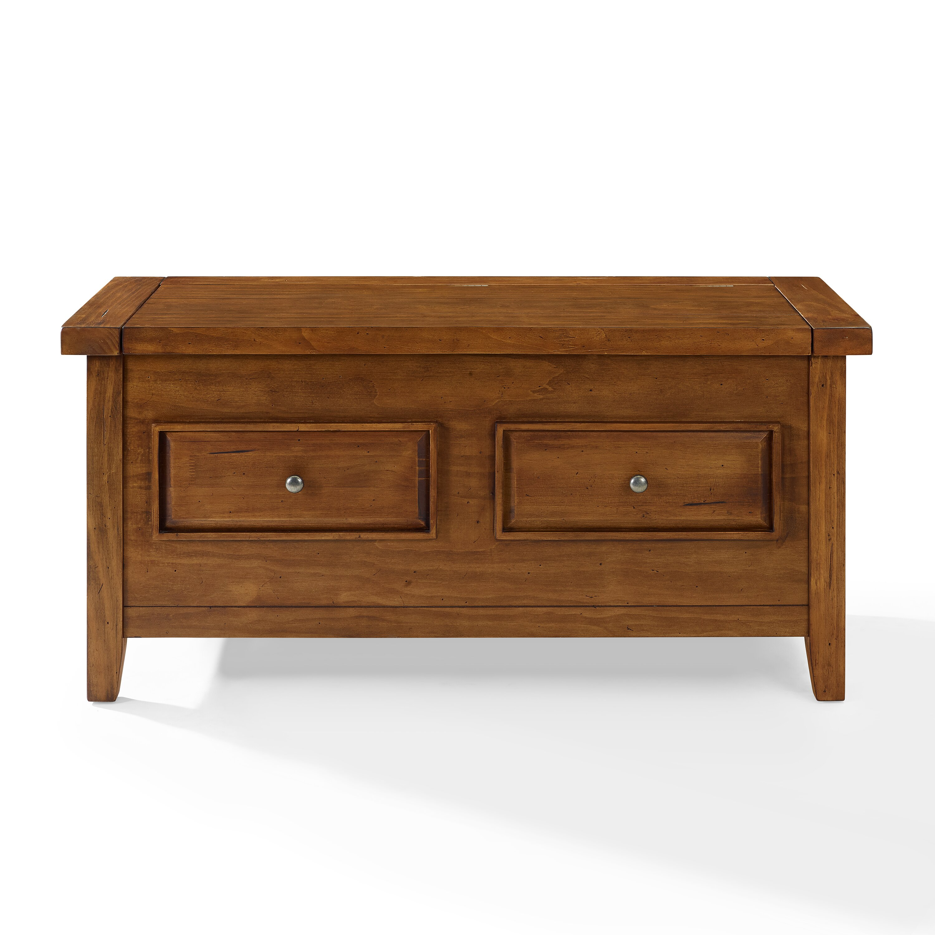 Loon Peak Ordway Wood Storage Bedroom Bench Wayfair