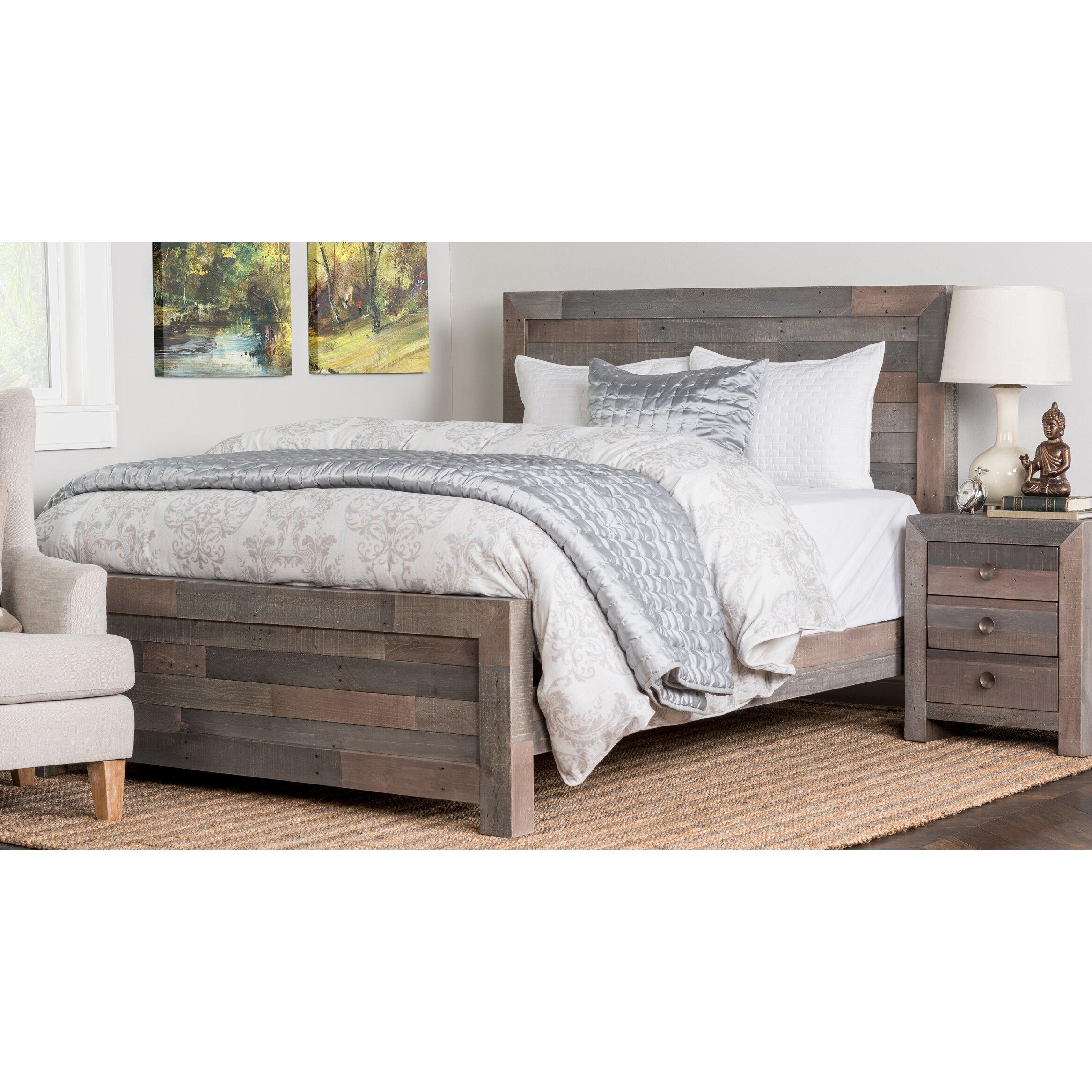Loon Peak Panel Bed Customizable Bedroom Set & Reviews