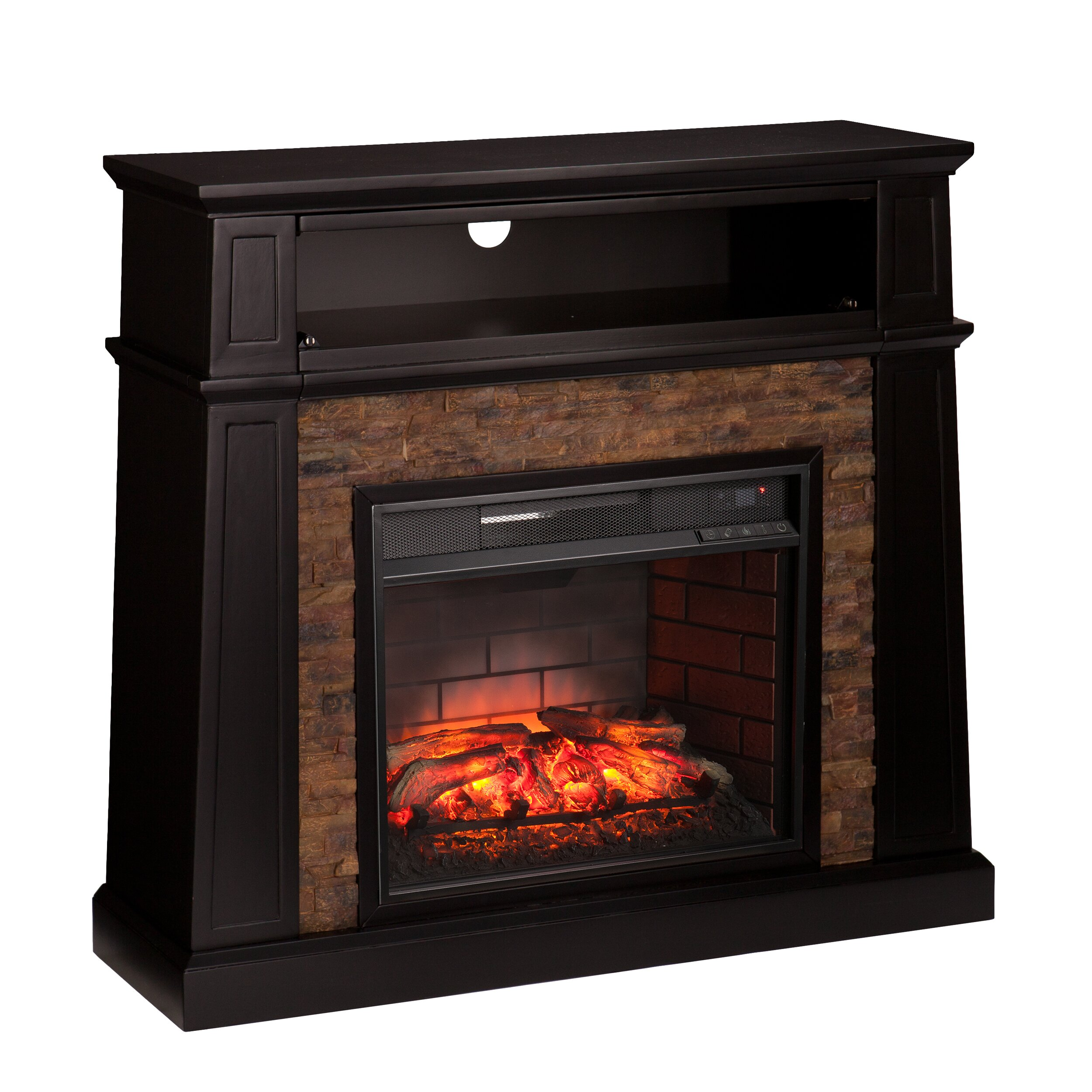 Loon Peak Colombes Infrared Media Electric Fireplace Wayfair