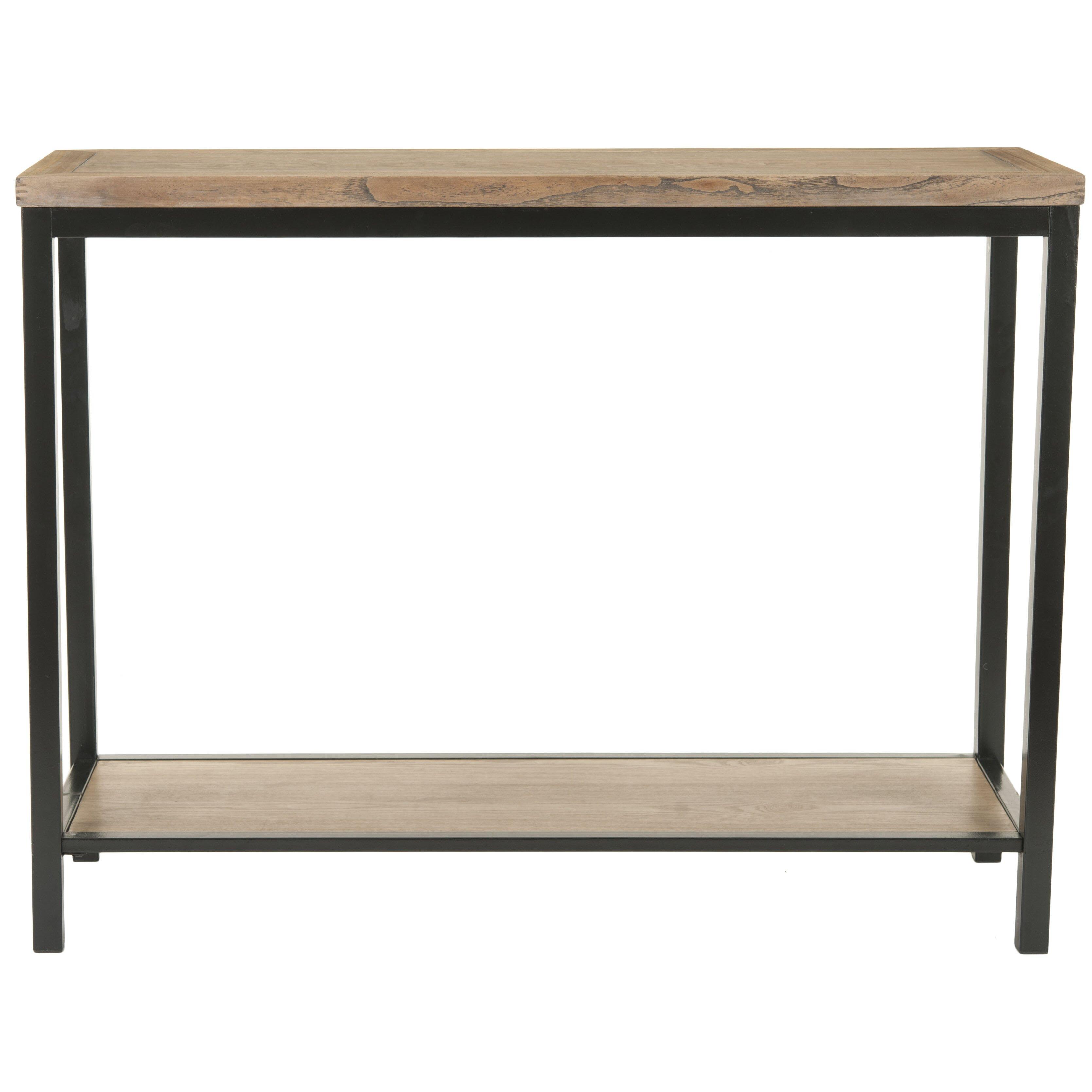Shop Scott Living Brown Industrial Kitchen Cart At Lowes Com: Trent Austin Design Armandale Console Table & Reviews