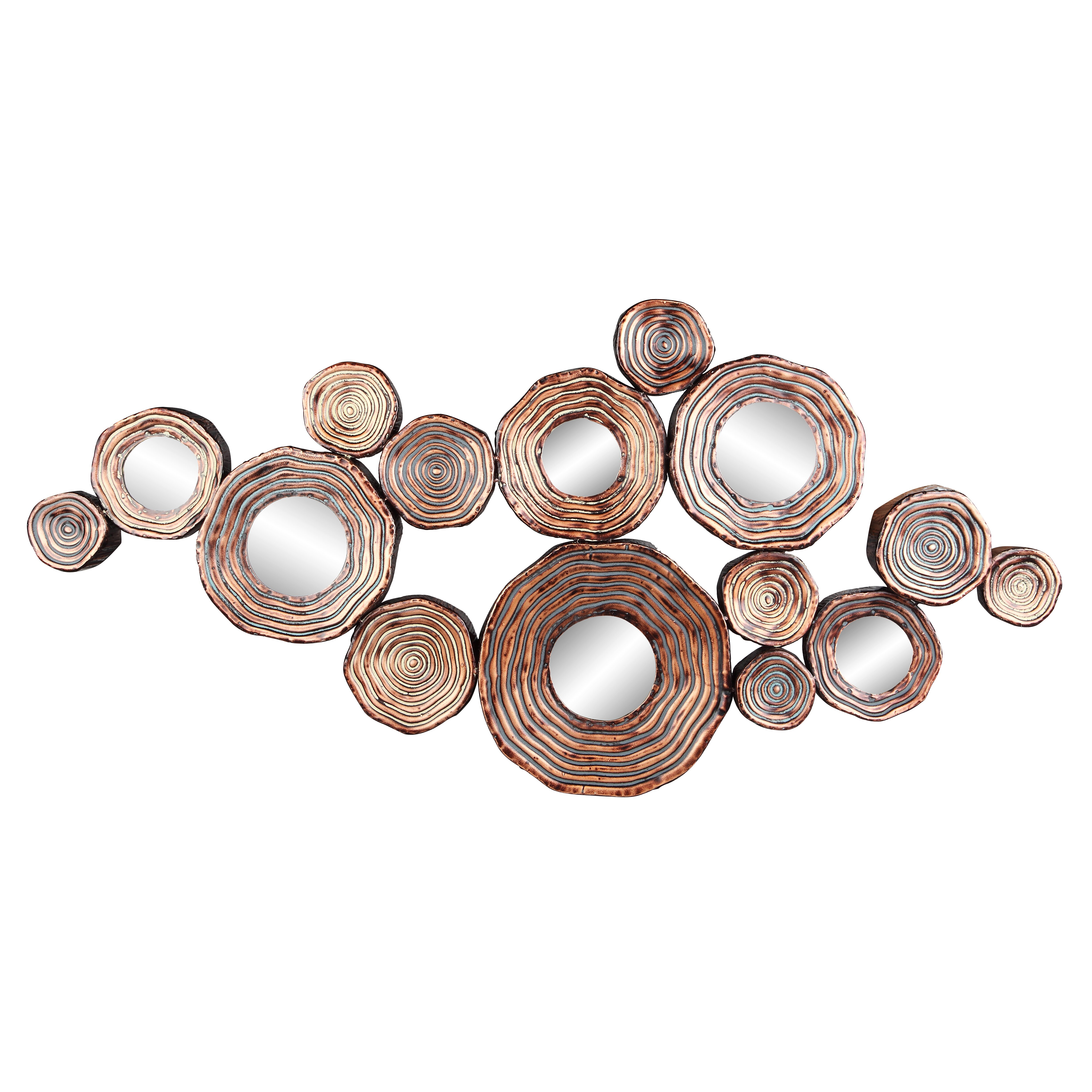 Trent austin design circle cluster wall decor reviews for Circle wall art