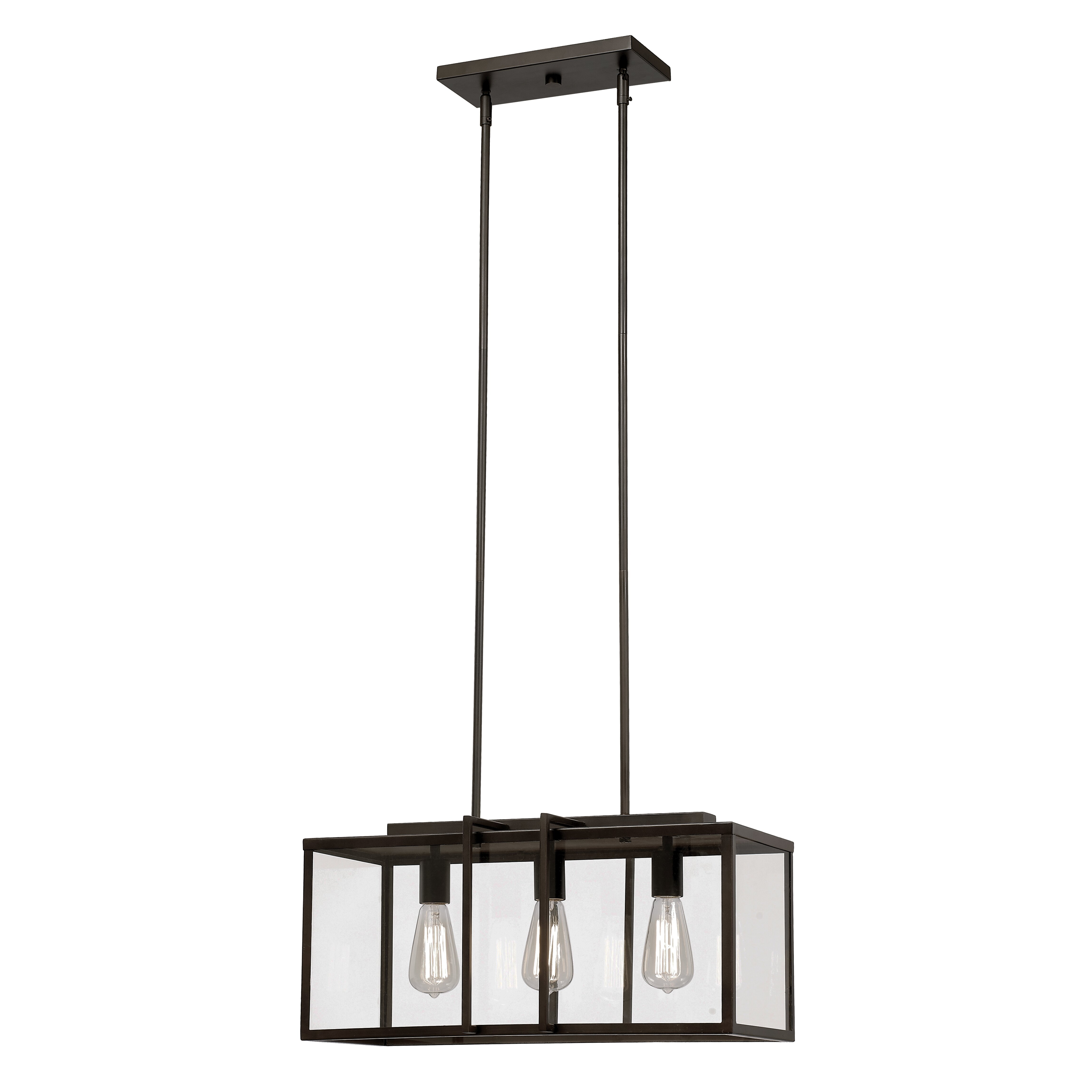trent austin design 3 light kitchen island pendant