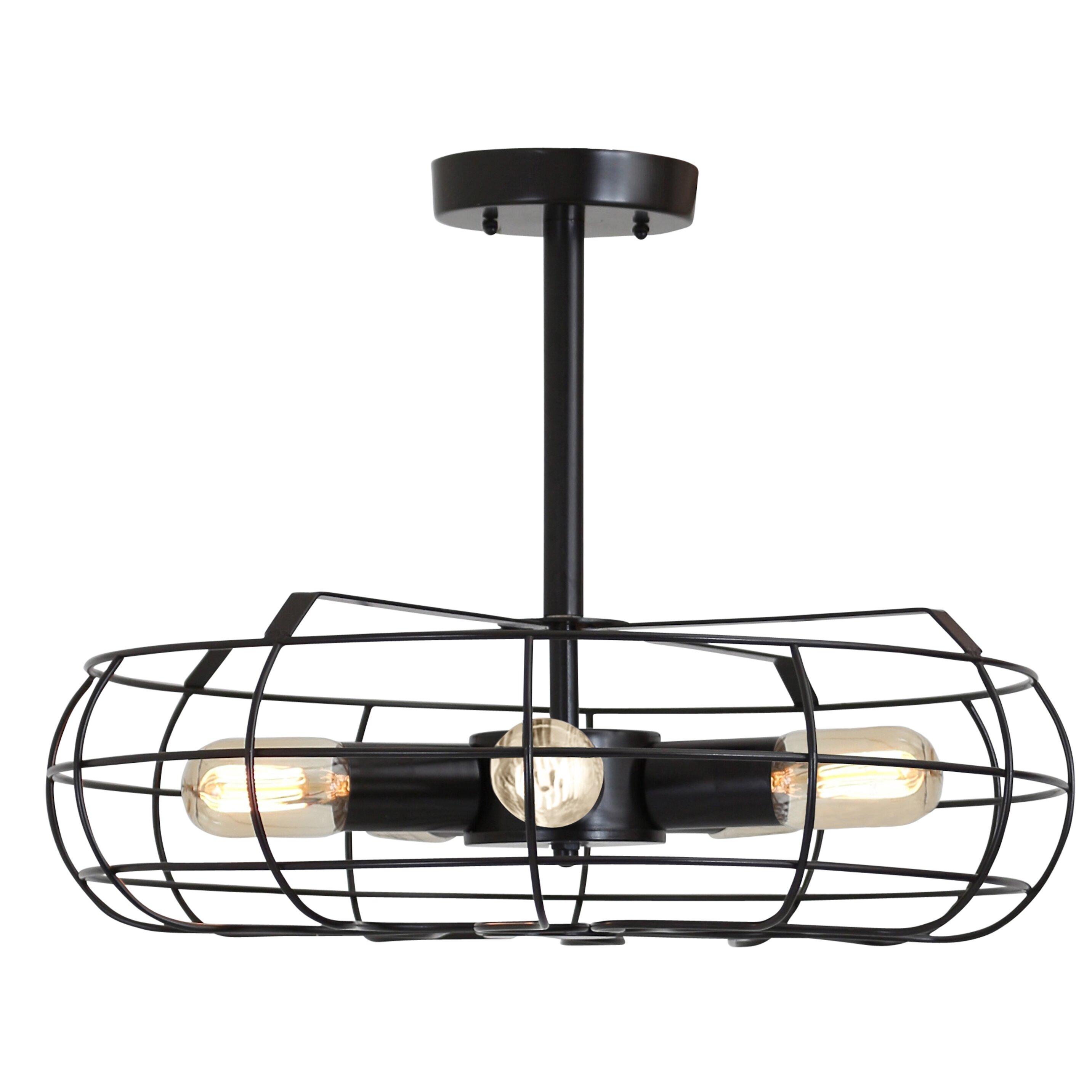 Trent Austin Design Lonerock 5 Light Mini Pendant