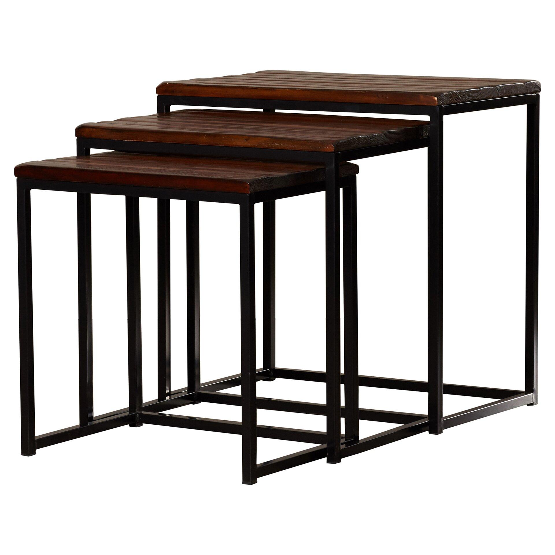 Trent Austin Design Pemberton 3 Piece Nesting Table Set