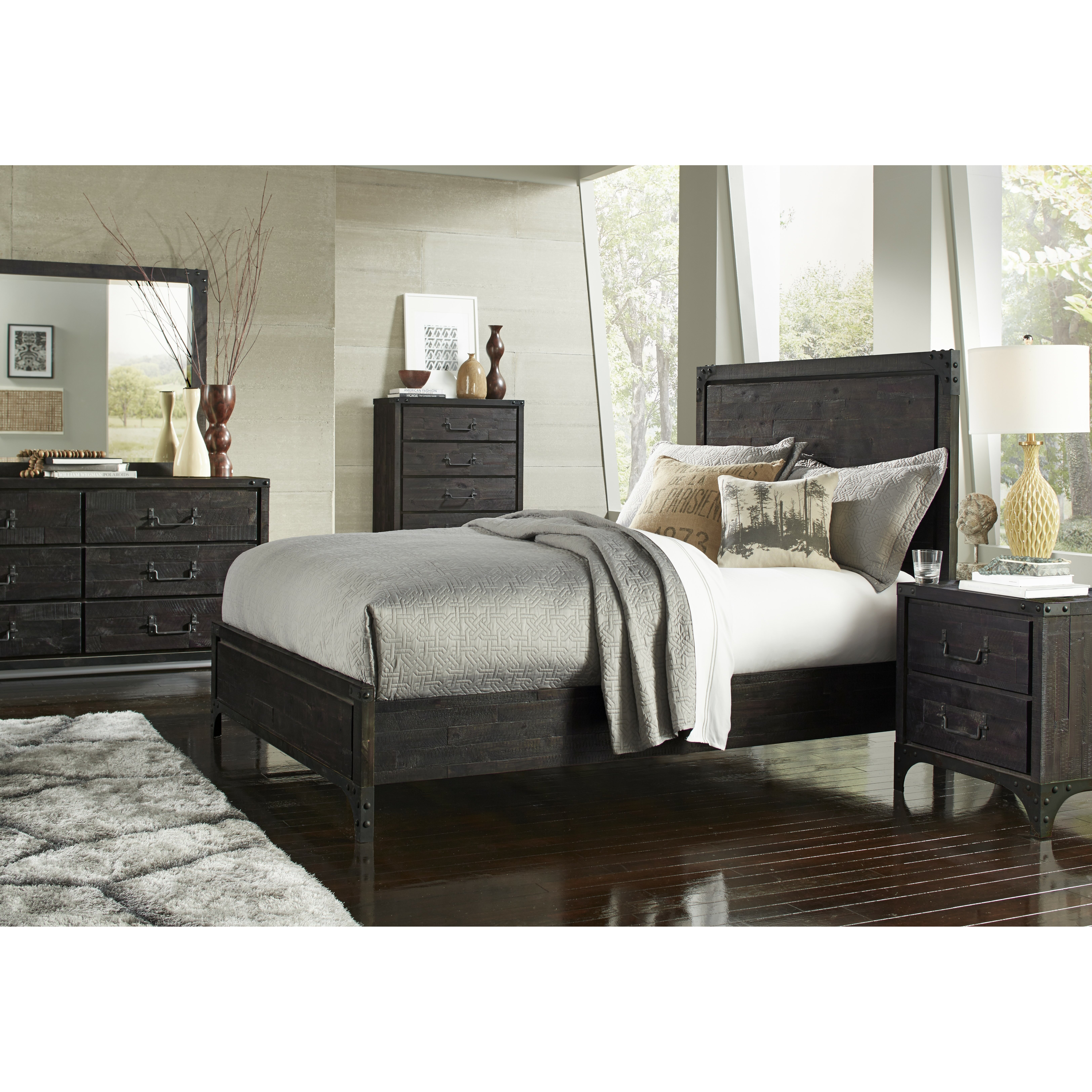 Trent Austin Design Sedgwick Platform Customizable Bedroom