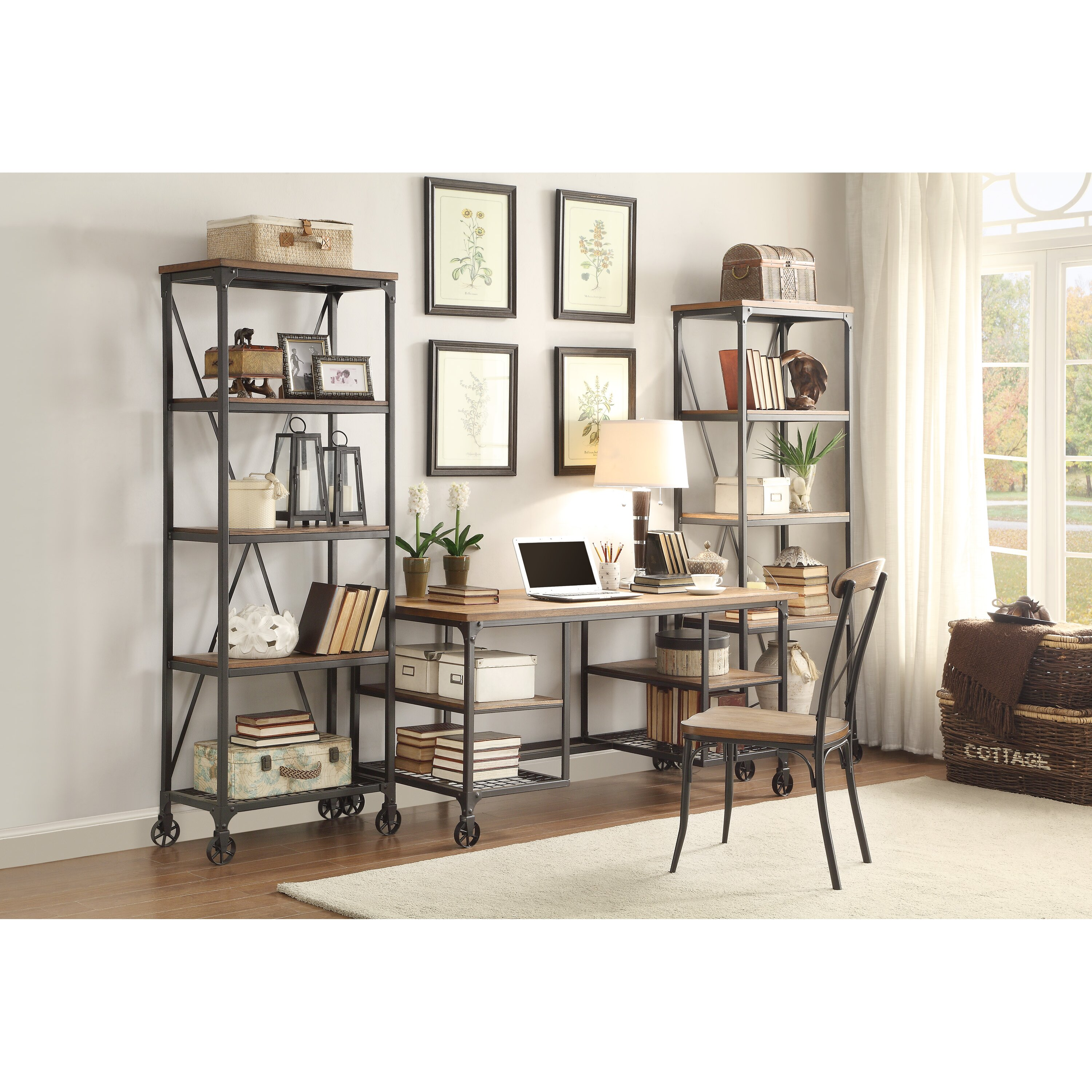 trent austin design rocklin etagere bookcase reviews wayfair. Black Bedroom Furniture Sets. Home Design Ideas