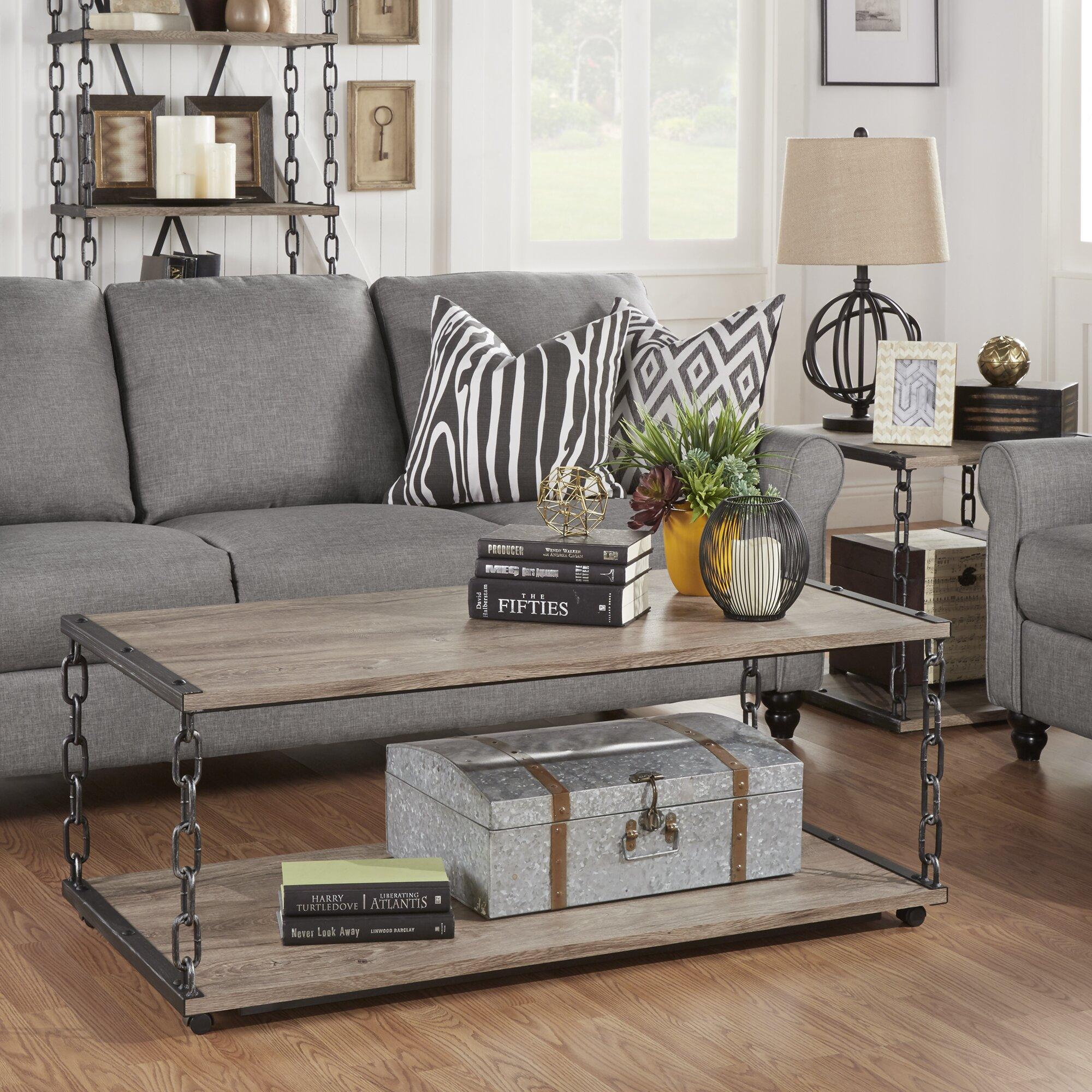 Trent Austin Design Villa Park 2 Piece Coffee Table Set Reviews Wayfair