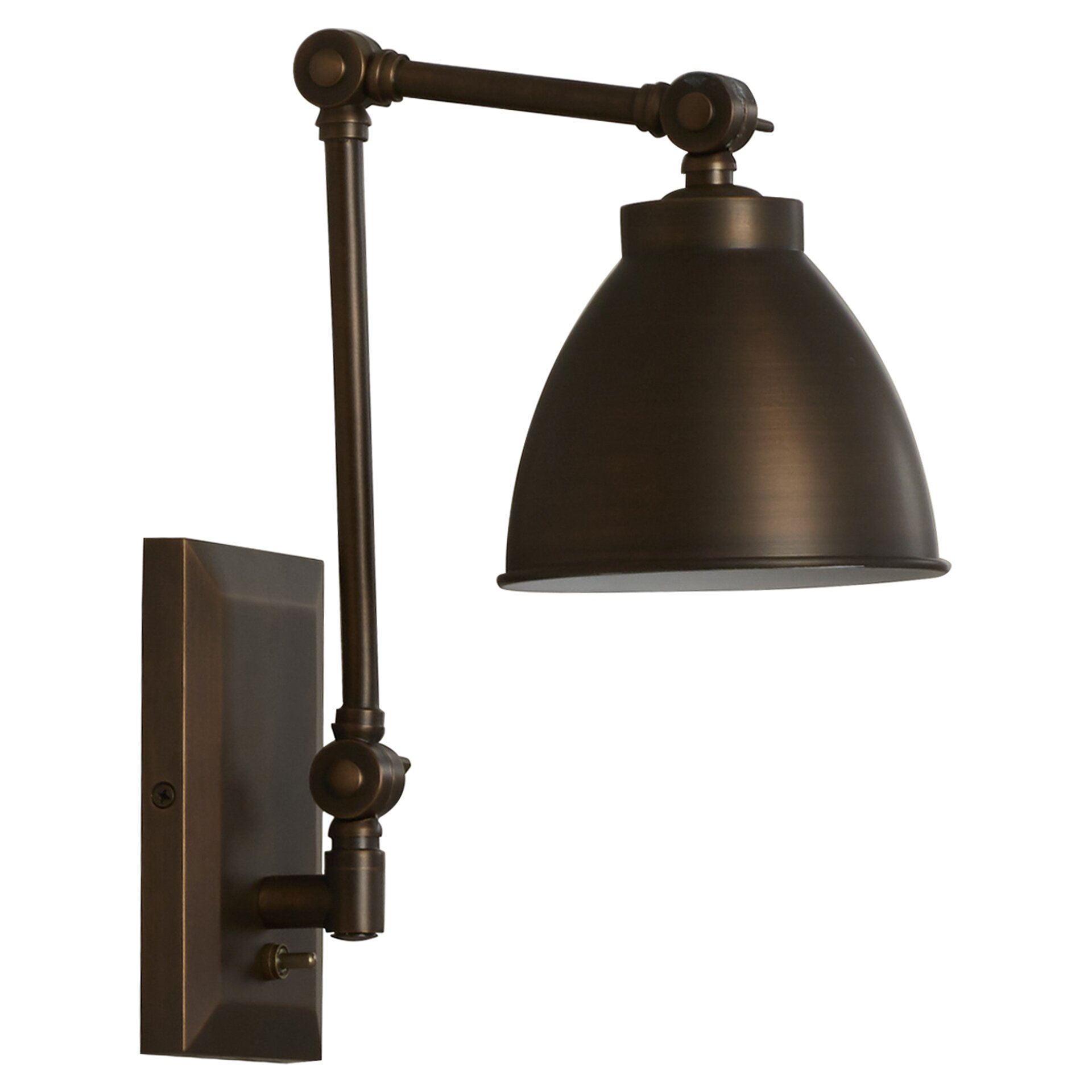 Trent Austin Design Bluntleaf Swing Arm Wall Sconce