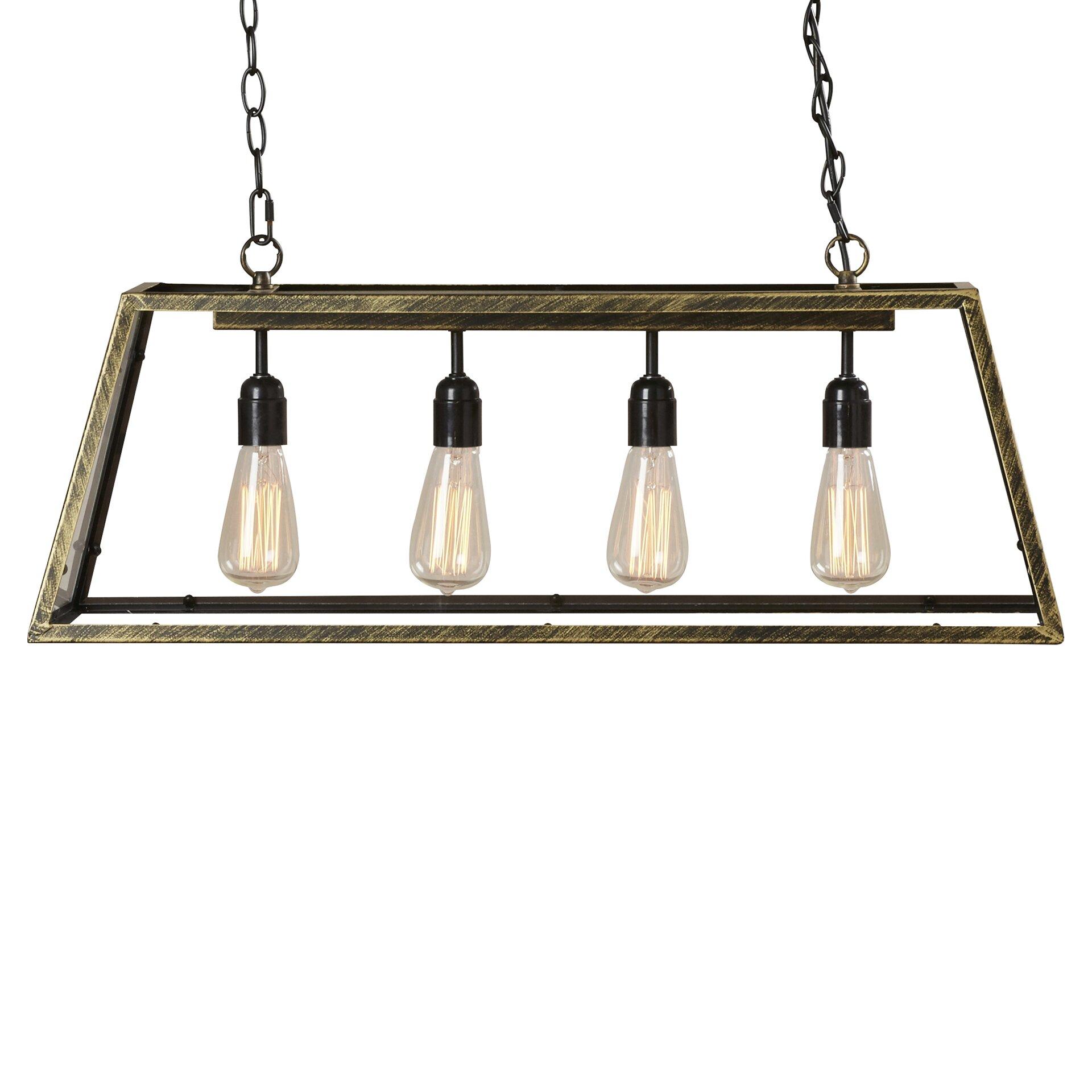 Kitchen Pendant Lighting: Trent Austin Design Suisun City 4 Light Kitchen Island