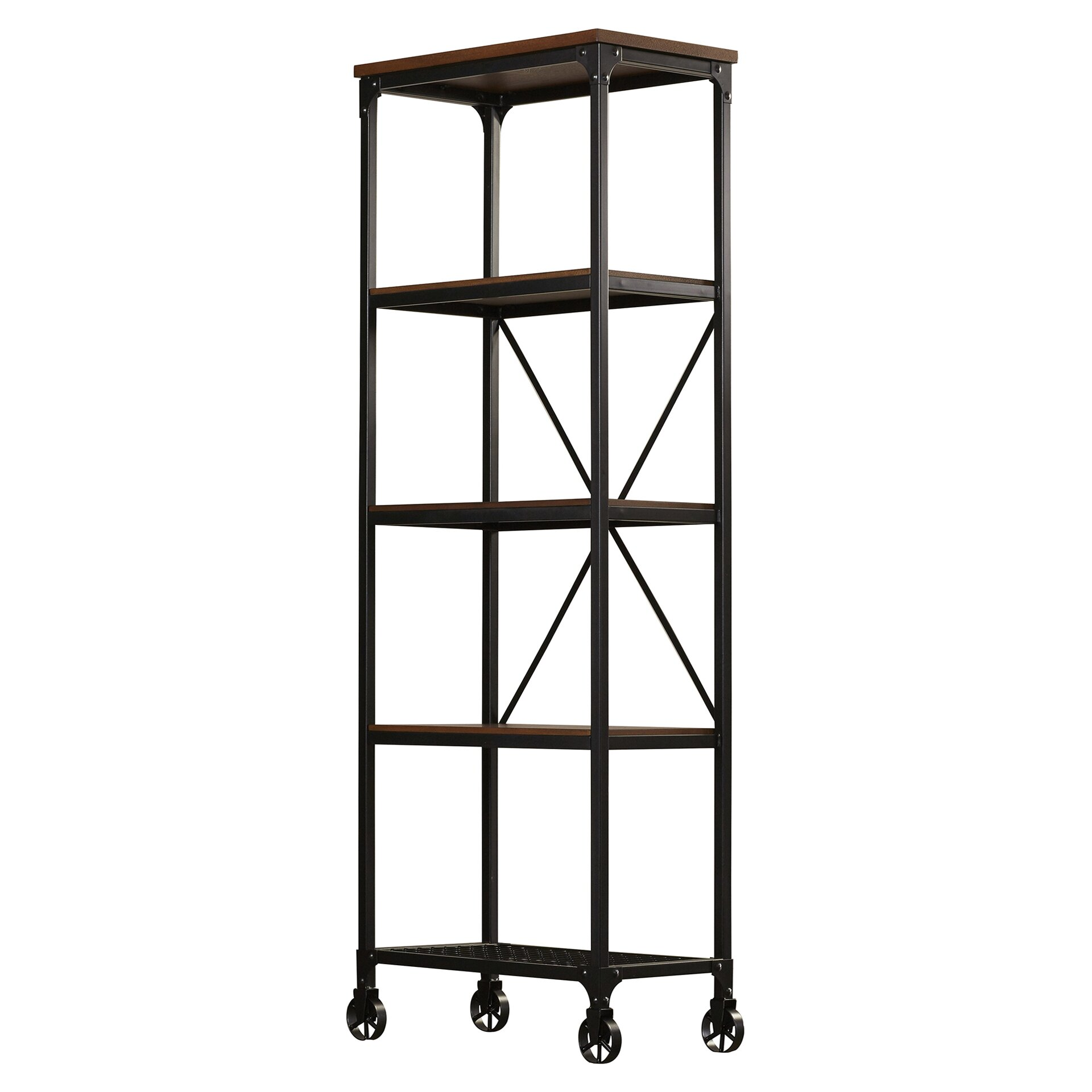 trent austin design madera 63 etagere bookcase reviews wayfair. Black Bedroom Furniture Sets. Home Design Ideas