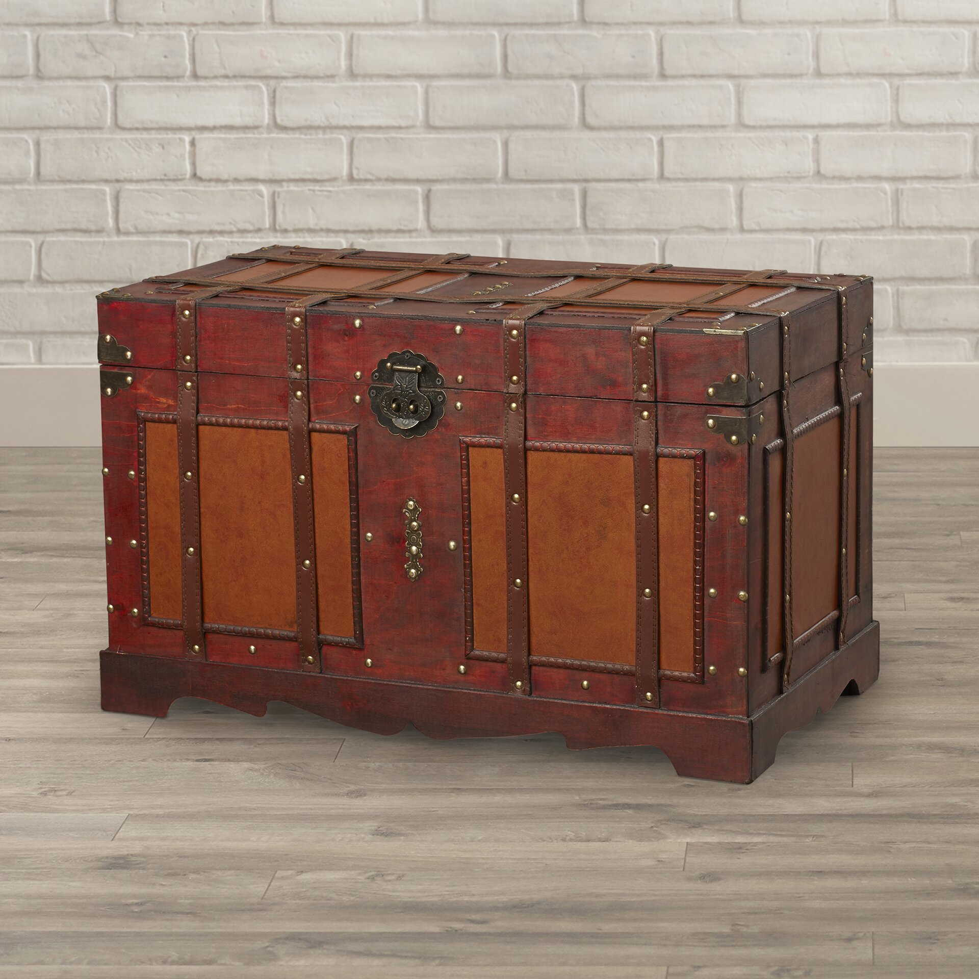 Old Fashioned Steamer Trunk