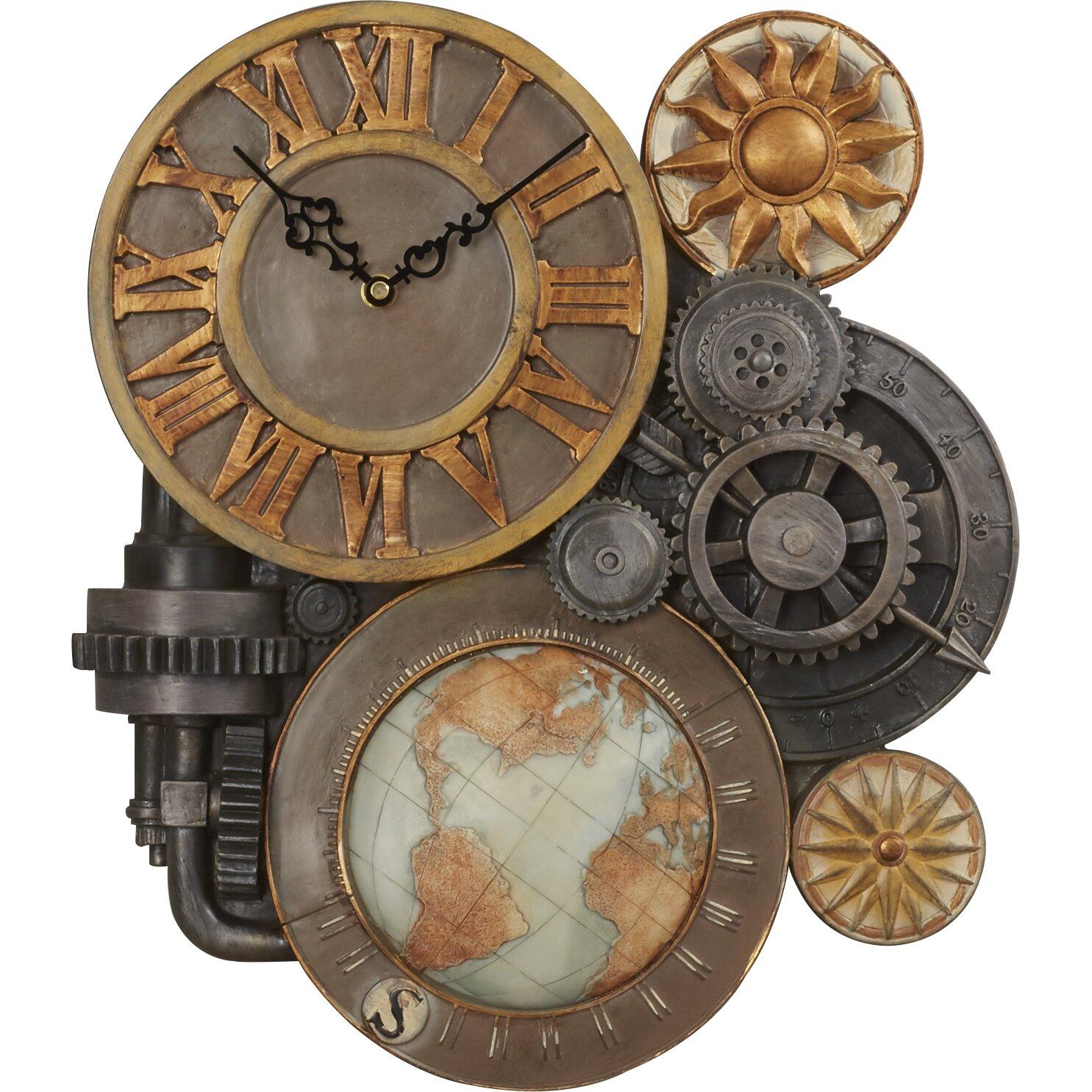 Home Design Game Questions Trent Austin Design Oakland Gears Sculptural Wall Clock