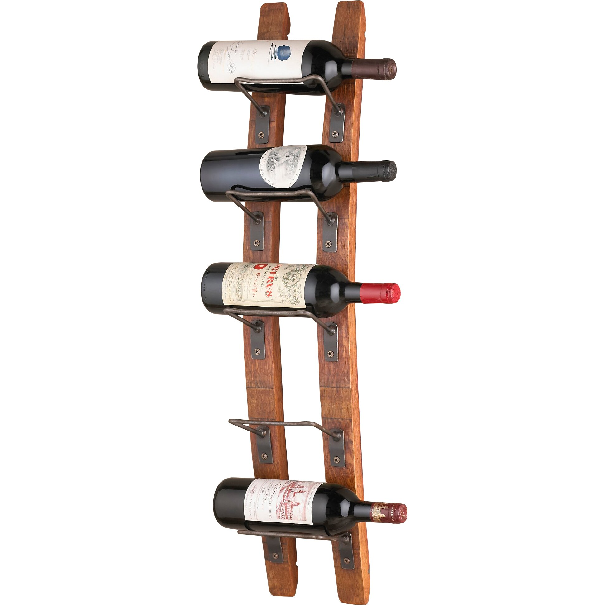 trent austin design blackburn 5 bottle wall mounted wine