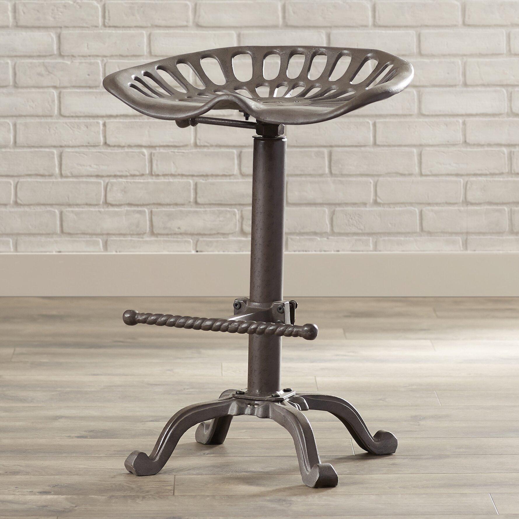 Trent Austin Design Elsinore Adjustable Height Swivel Bar