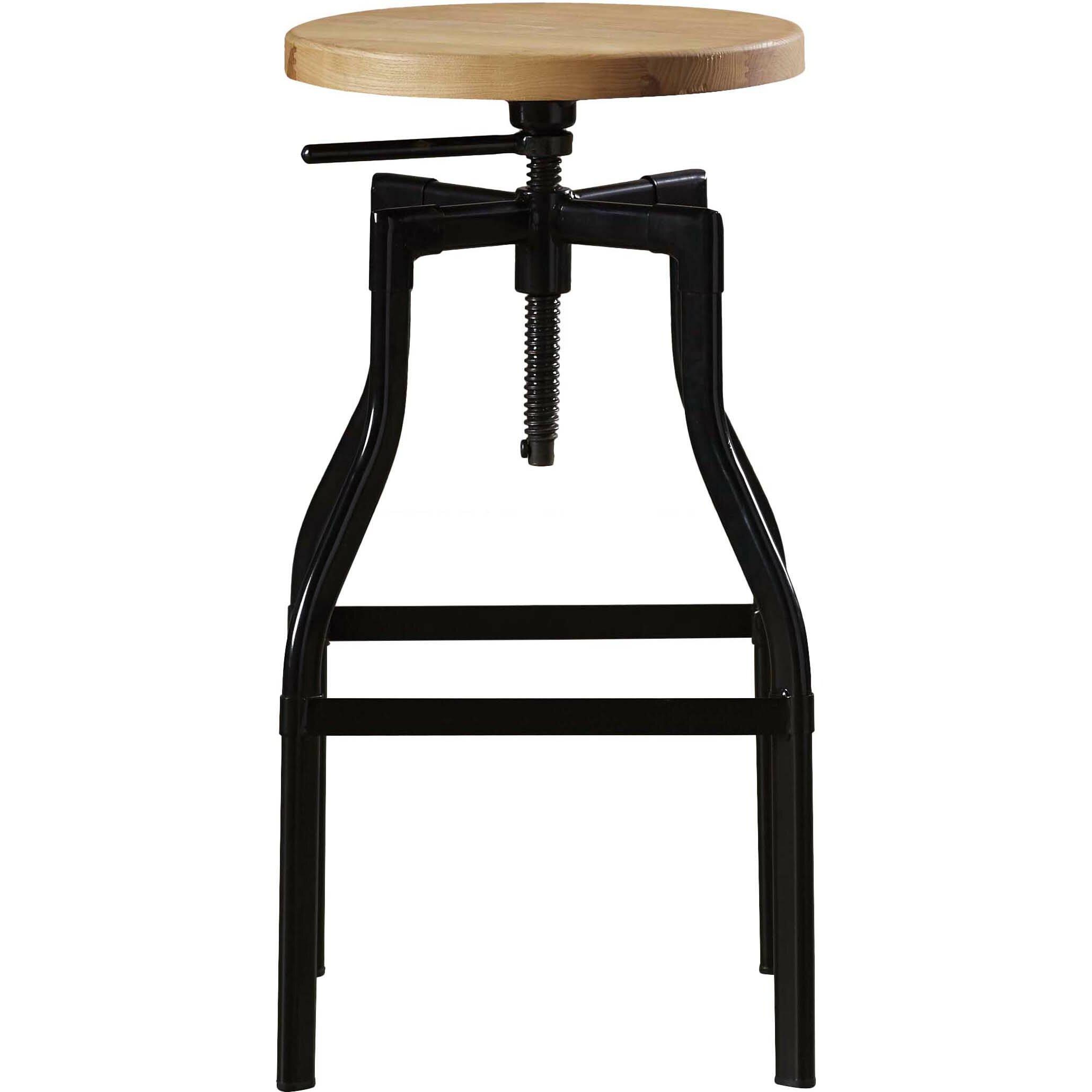 Trent Austin Design Donington Adjustable Height Swivel Bar Stool Reviews Wayfair