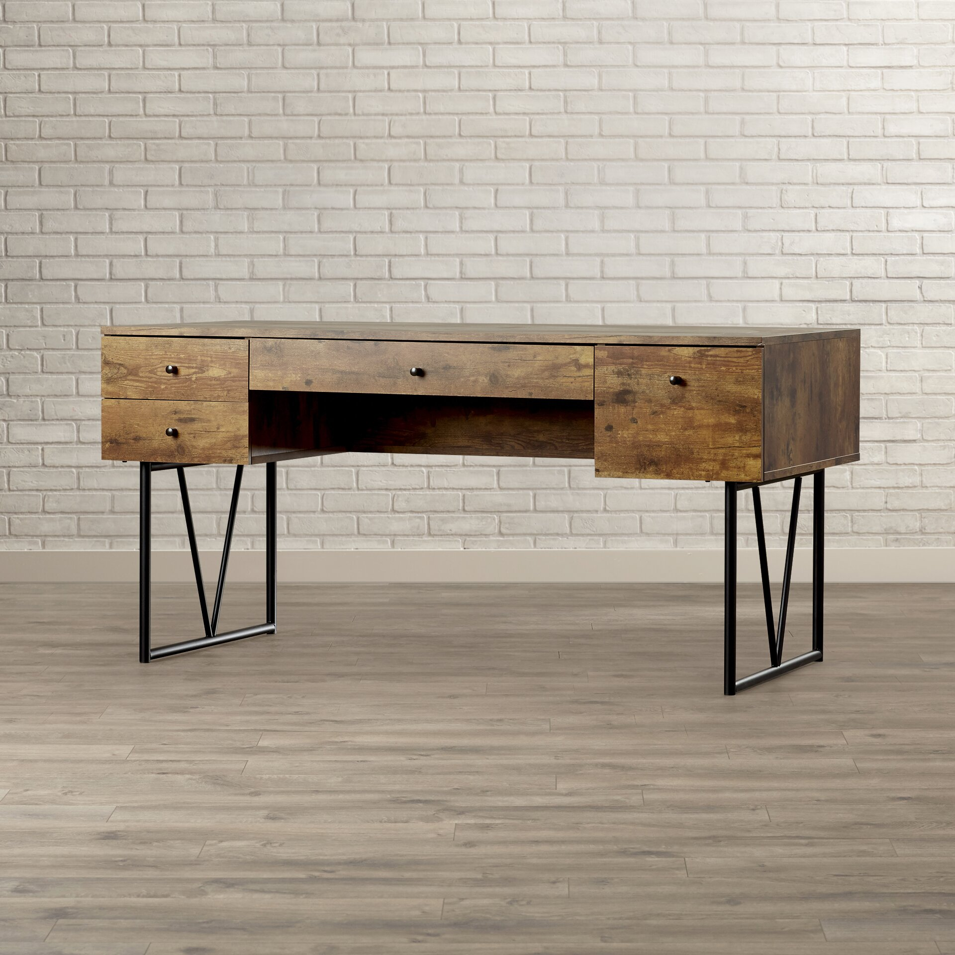 Trent Austin Design Granite 4 Drawer Writing Desk