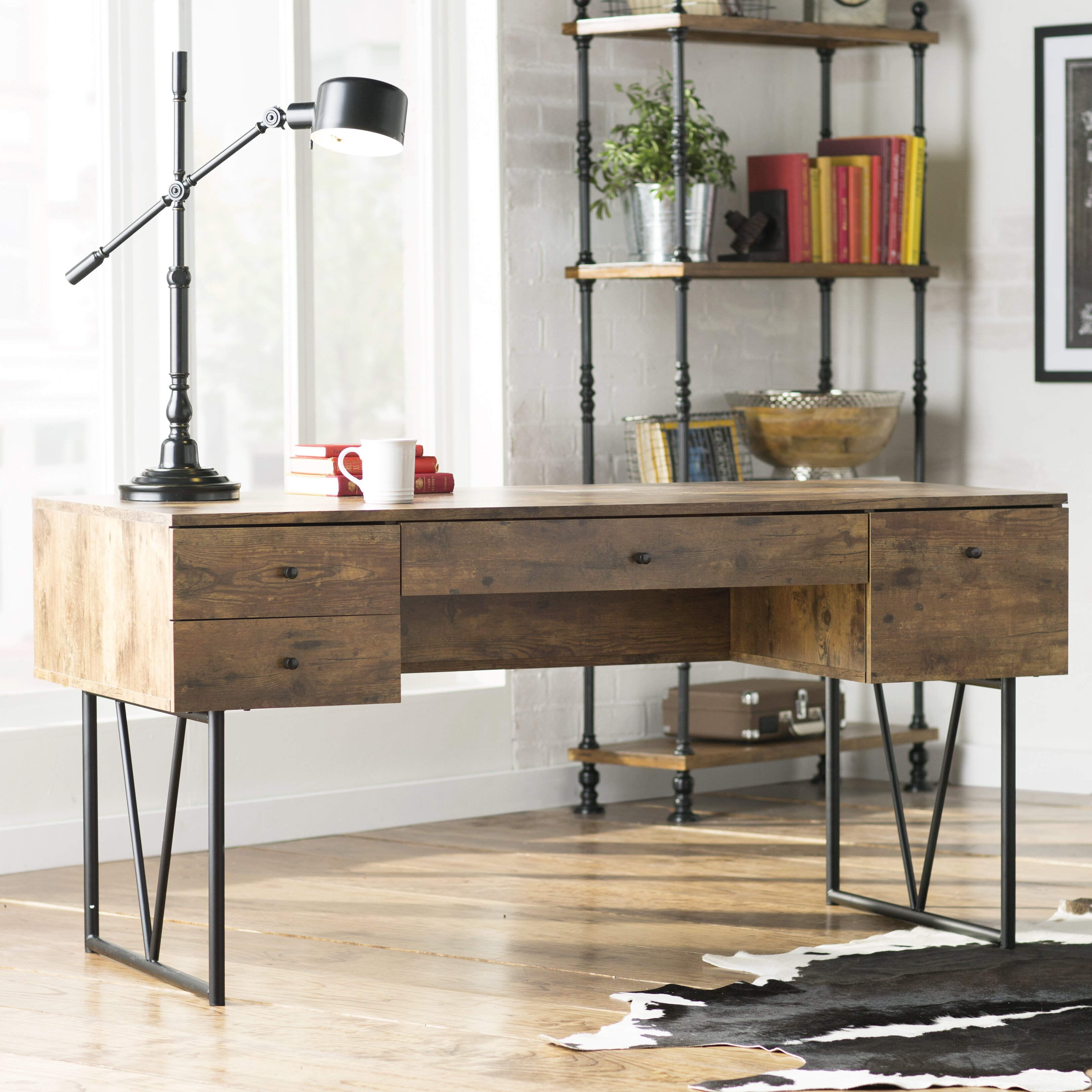 Trent Austin Design Granite 4 Drawer Writing Desk